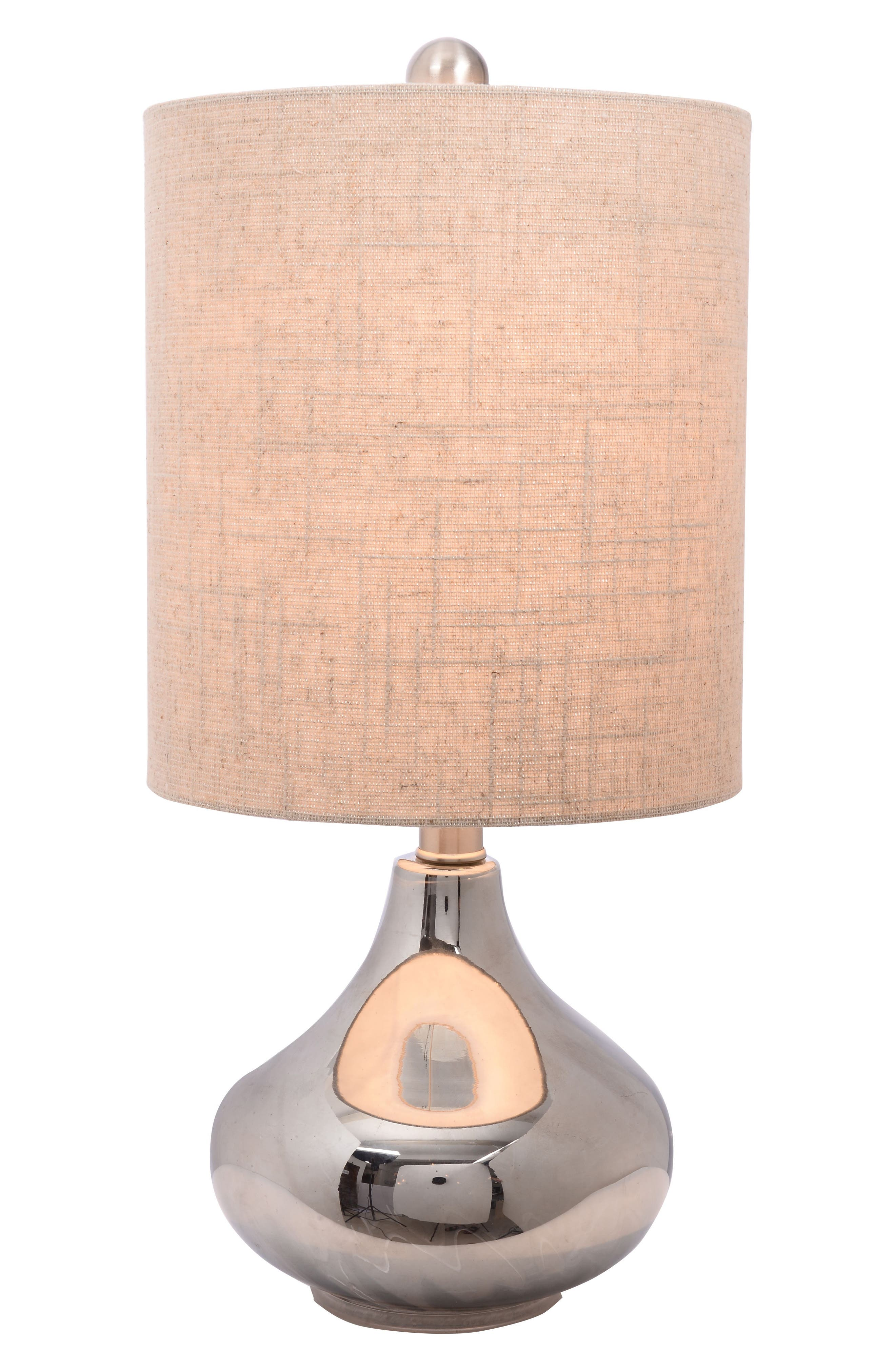 Alternate Image 2  - JAlexander Lighting Chrome Table Lamp