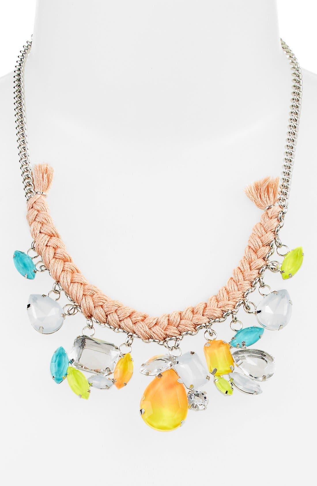 Alternate Image 2  - Missing Piece Fluorescent Drop Necklace