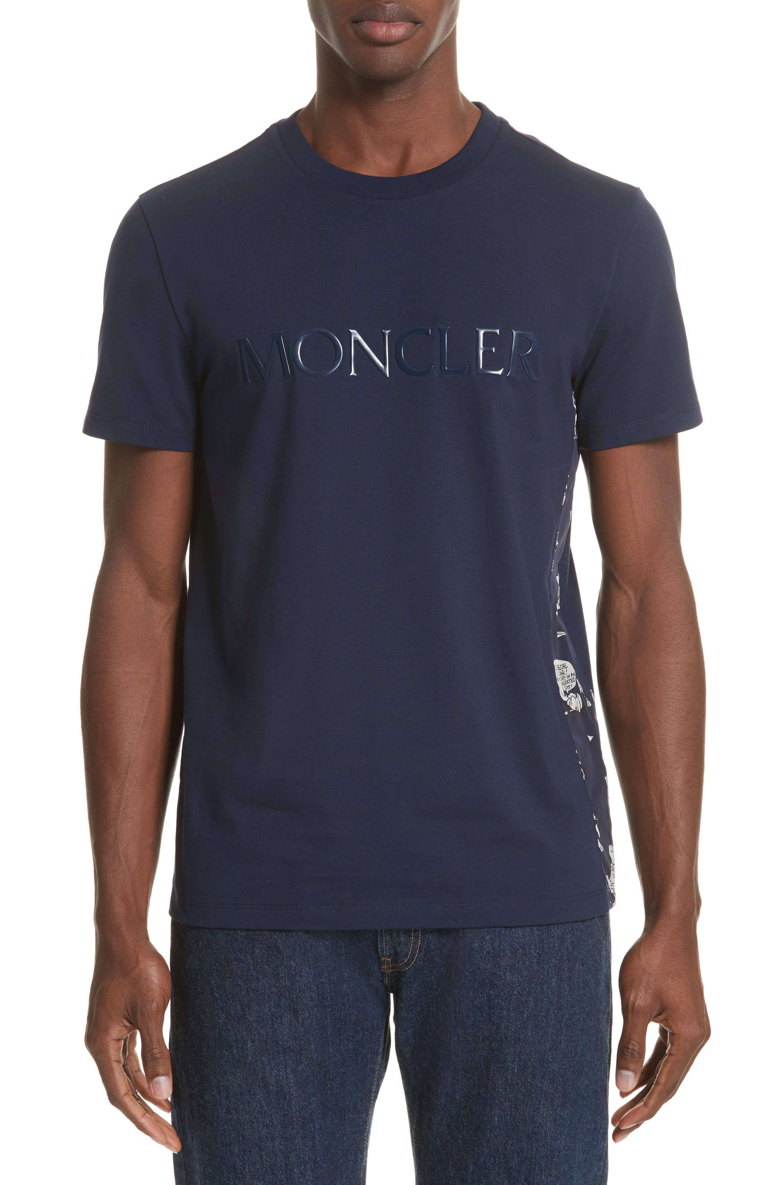 Moncler Maglia Print T-Shirt