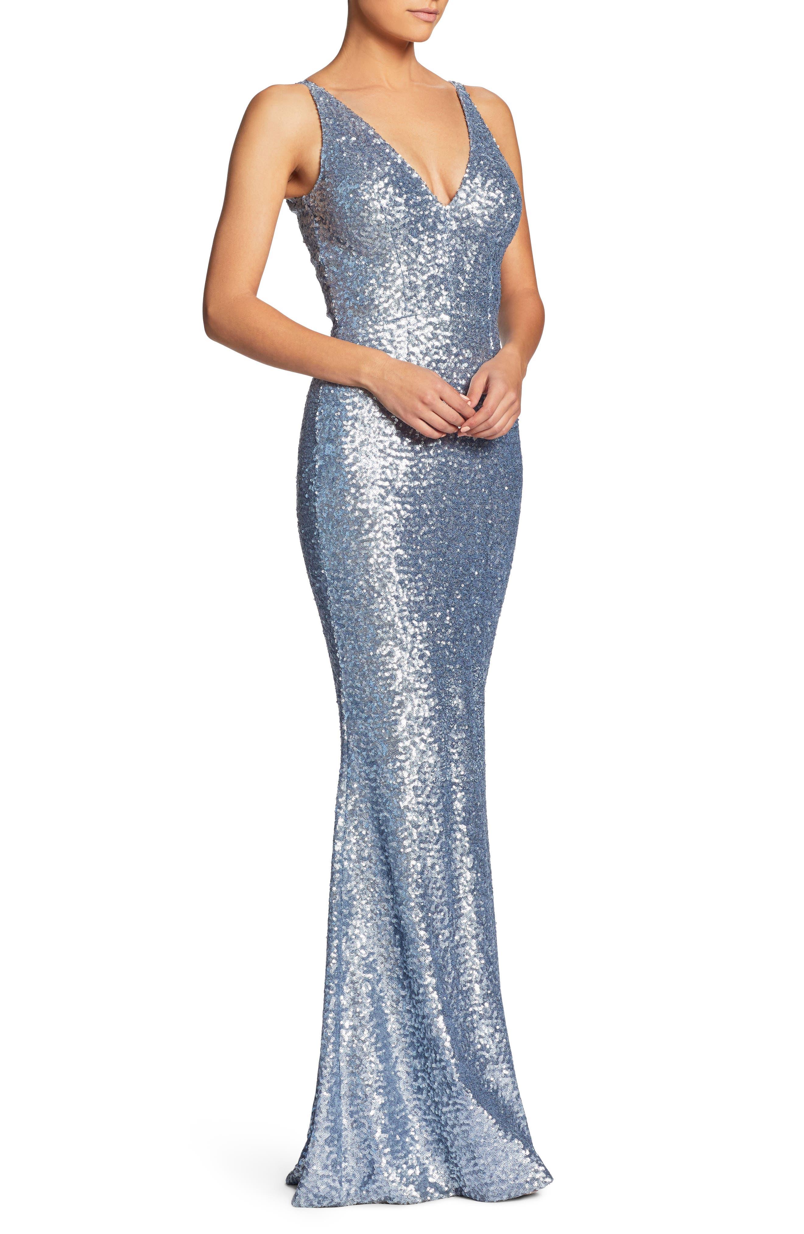 Alternate Image 4  - Dress the Population Harper Mermaid Gown