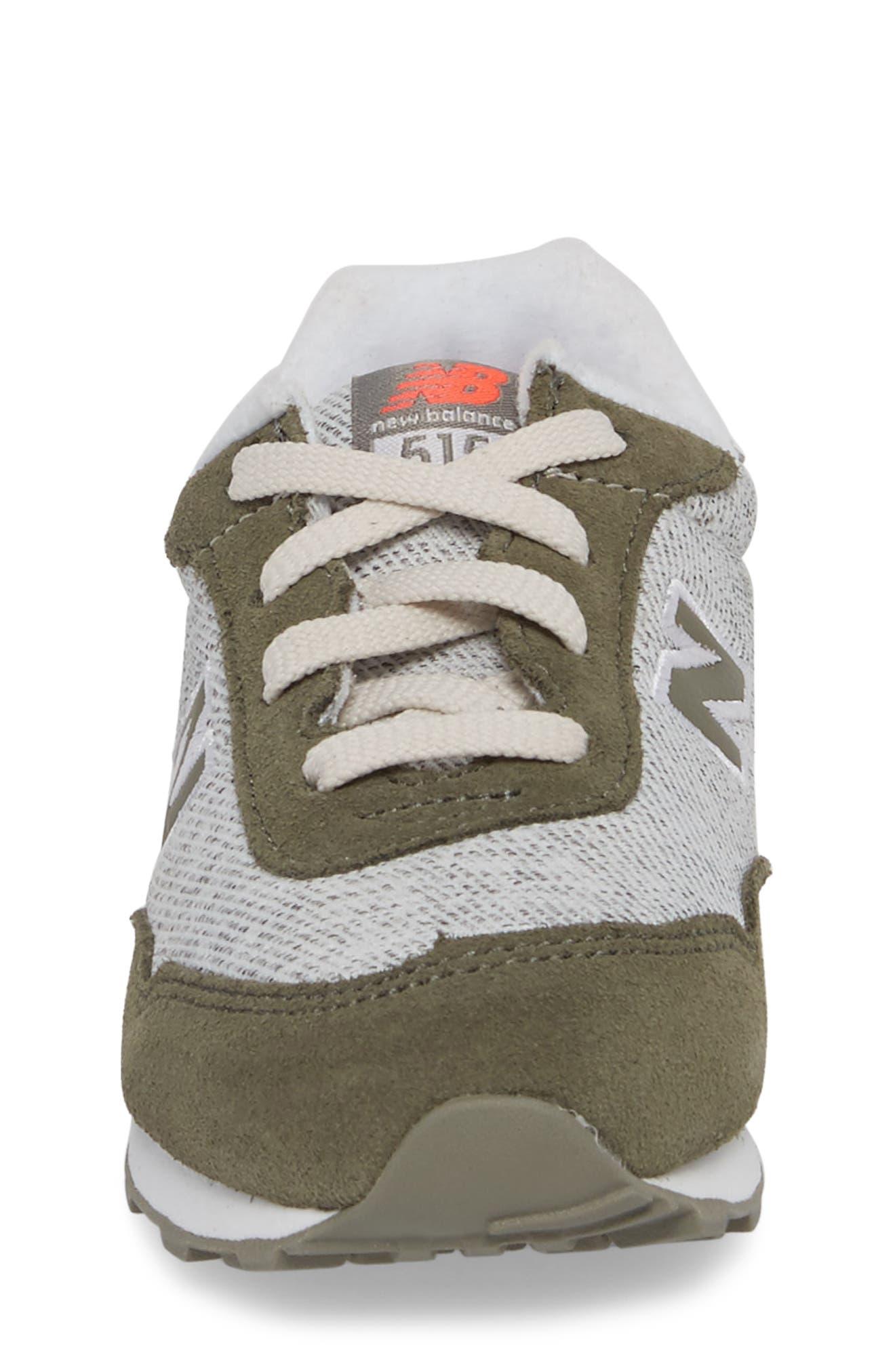 515 Sneaker,                             Alternate thumbnail 4, color,                             Green