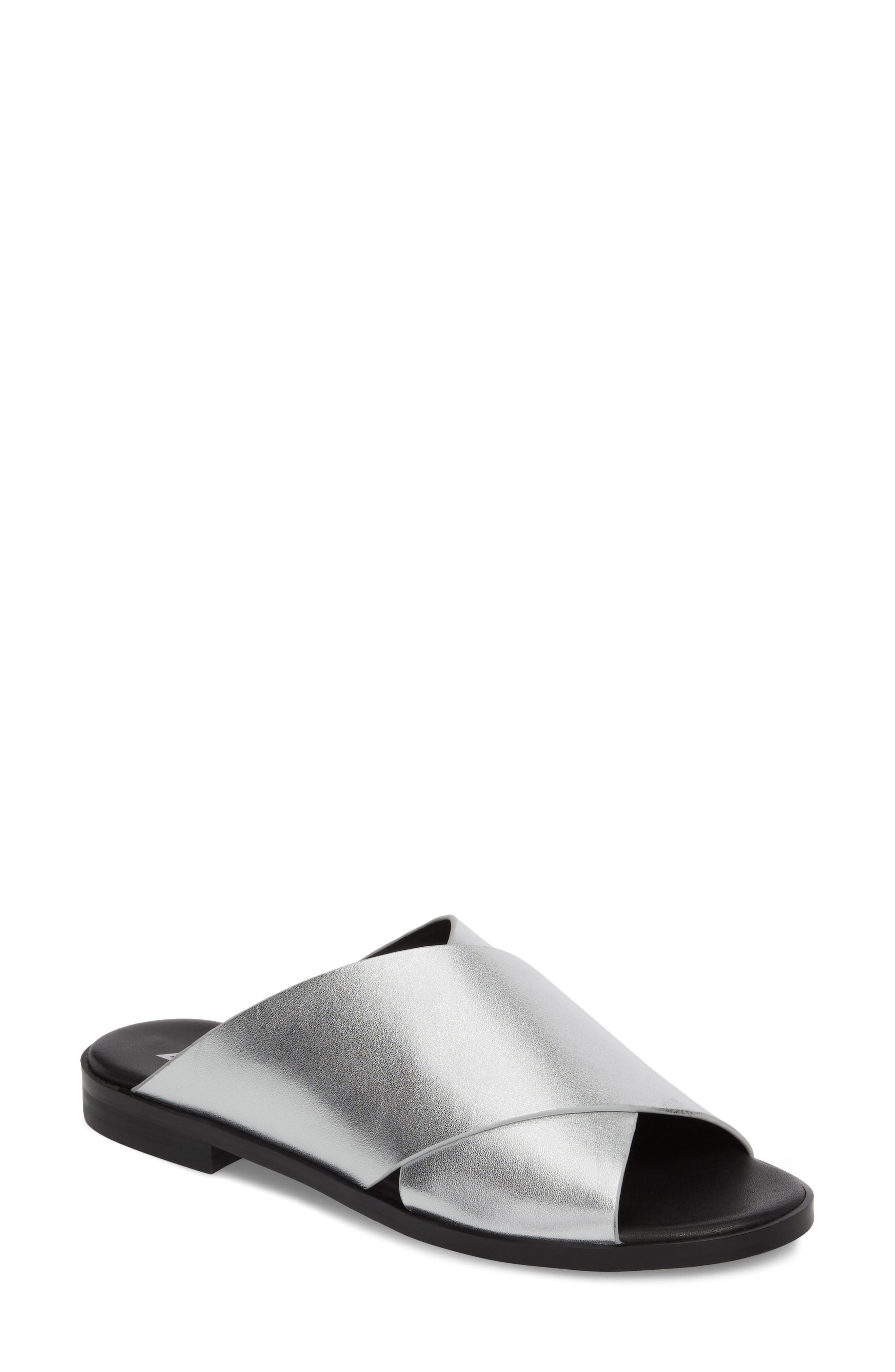 Marc Fisher LTD Idinia Crisscross Slide Sandal (Women)