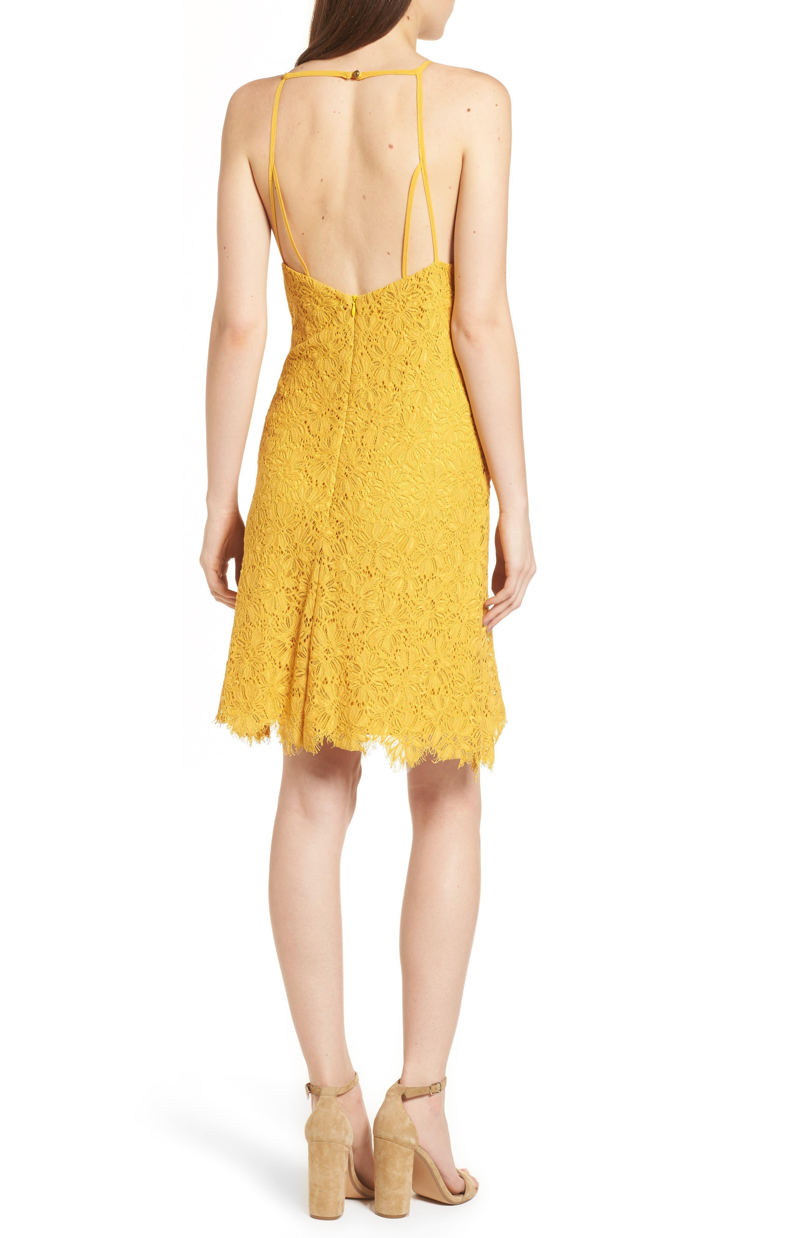 Alternate Image 2  - Speechless Lace Shift Dress