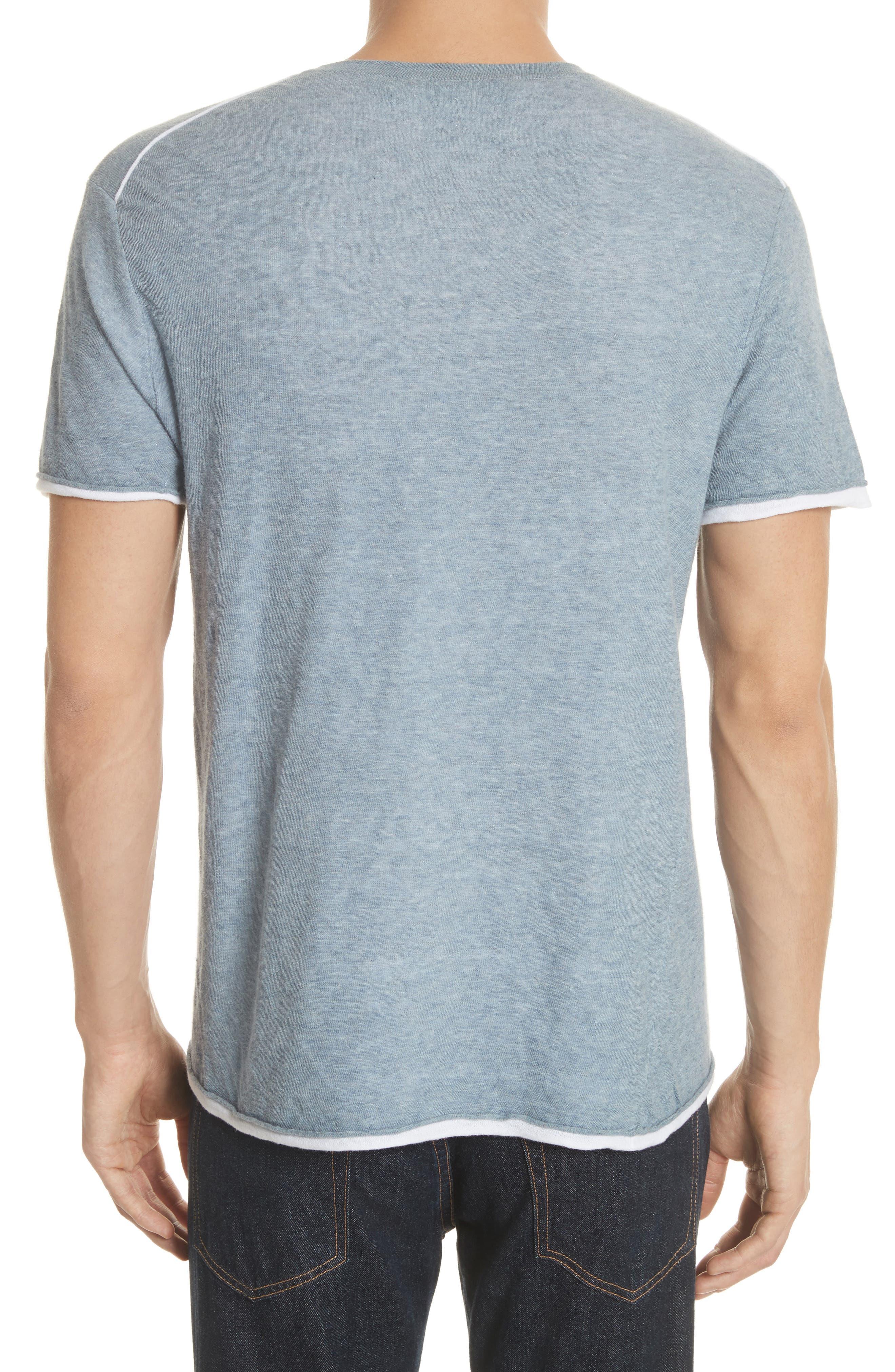 Tripp Pocket T-Shirt,                             Alternate thumbnail 2, color,                             Light Blue