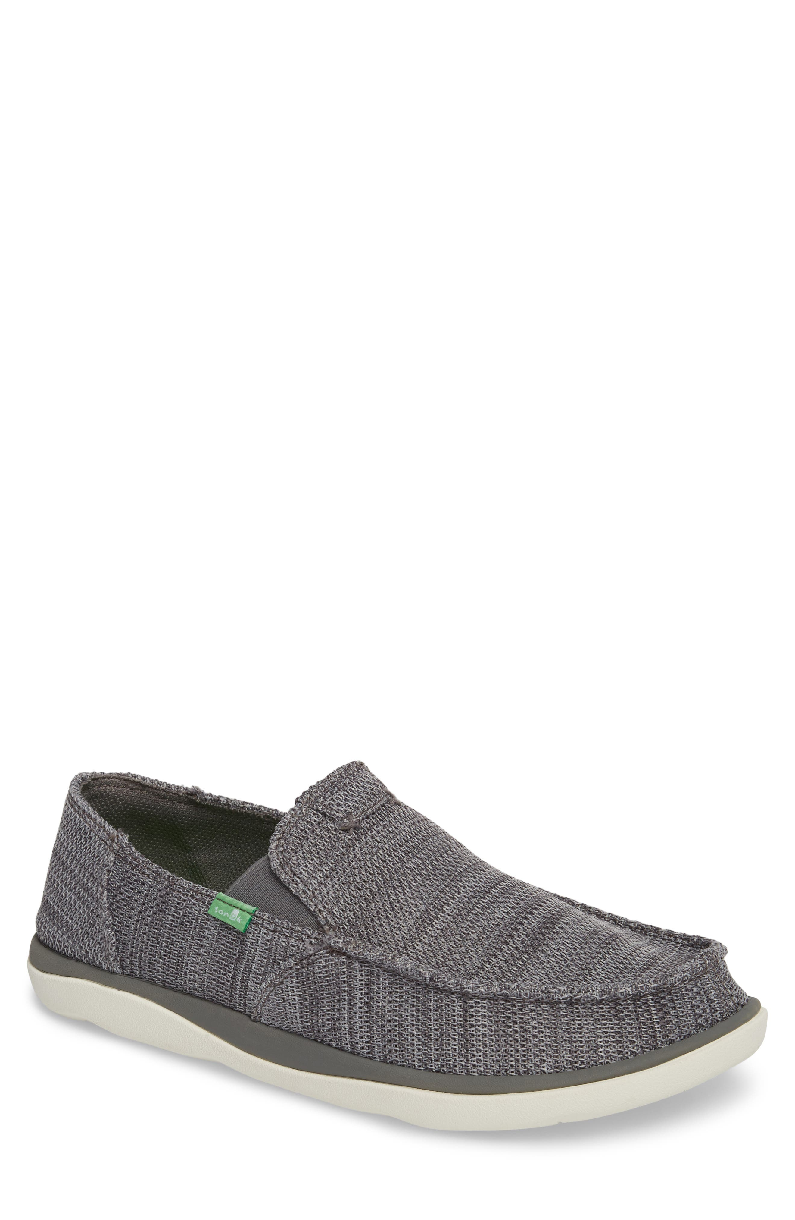 Slip-On,                         Main,                         color, Charcoal