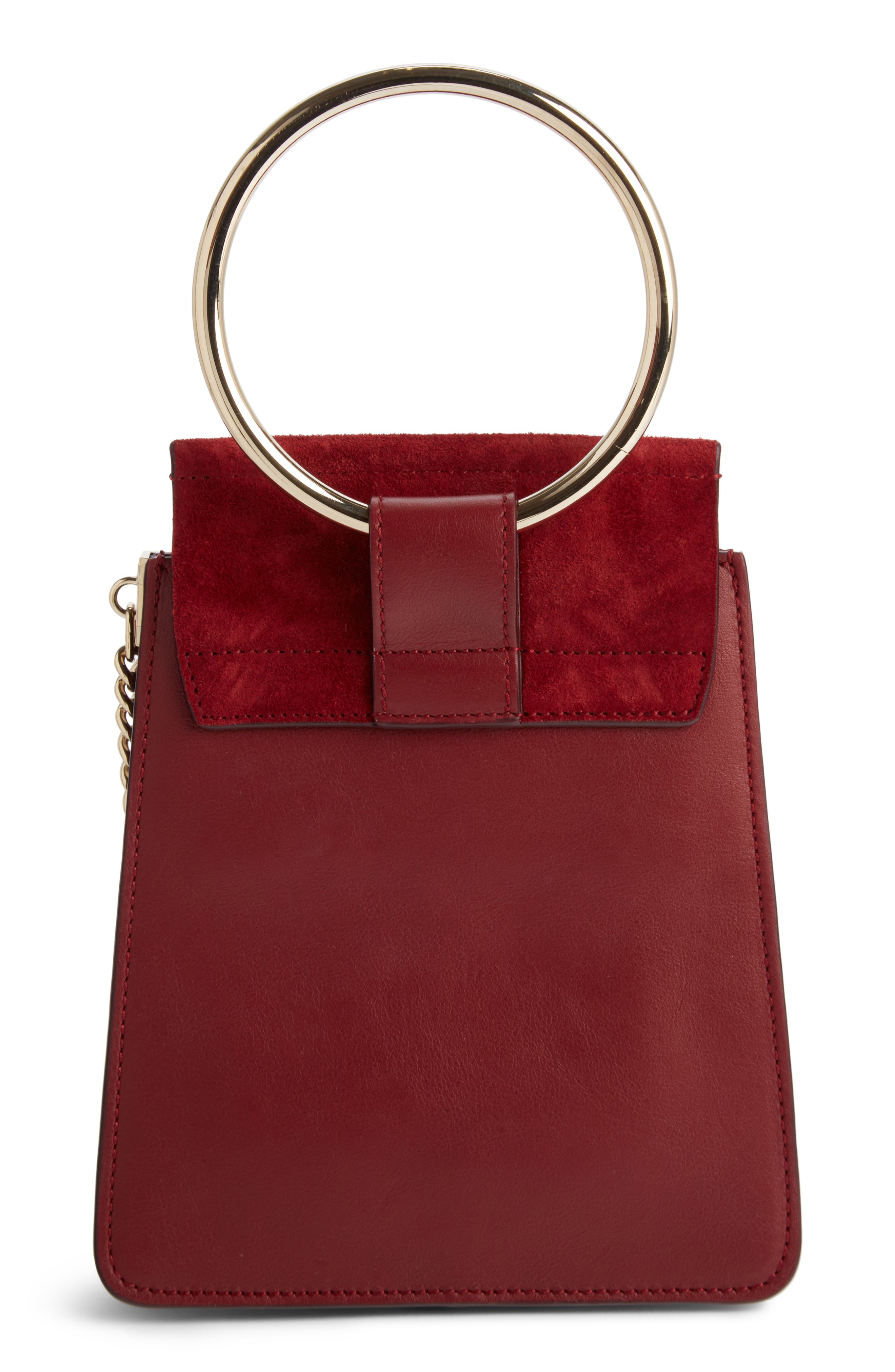 Alternate Image 2  - Chloé Faye Small Suede & Leather Bracelet Bag