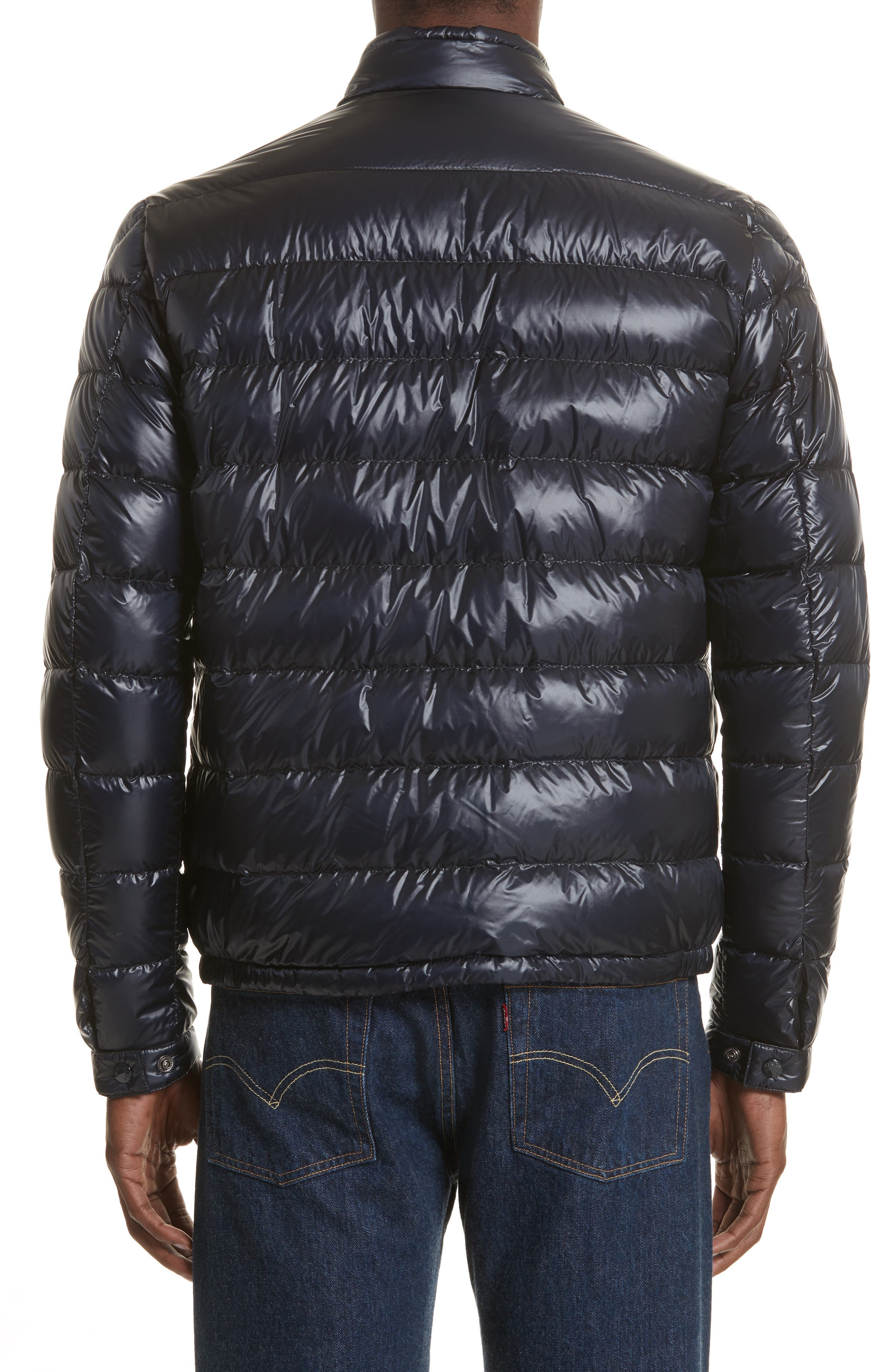 Alternate Image 2  - Moncler Acorus Down Quilted Jacket