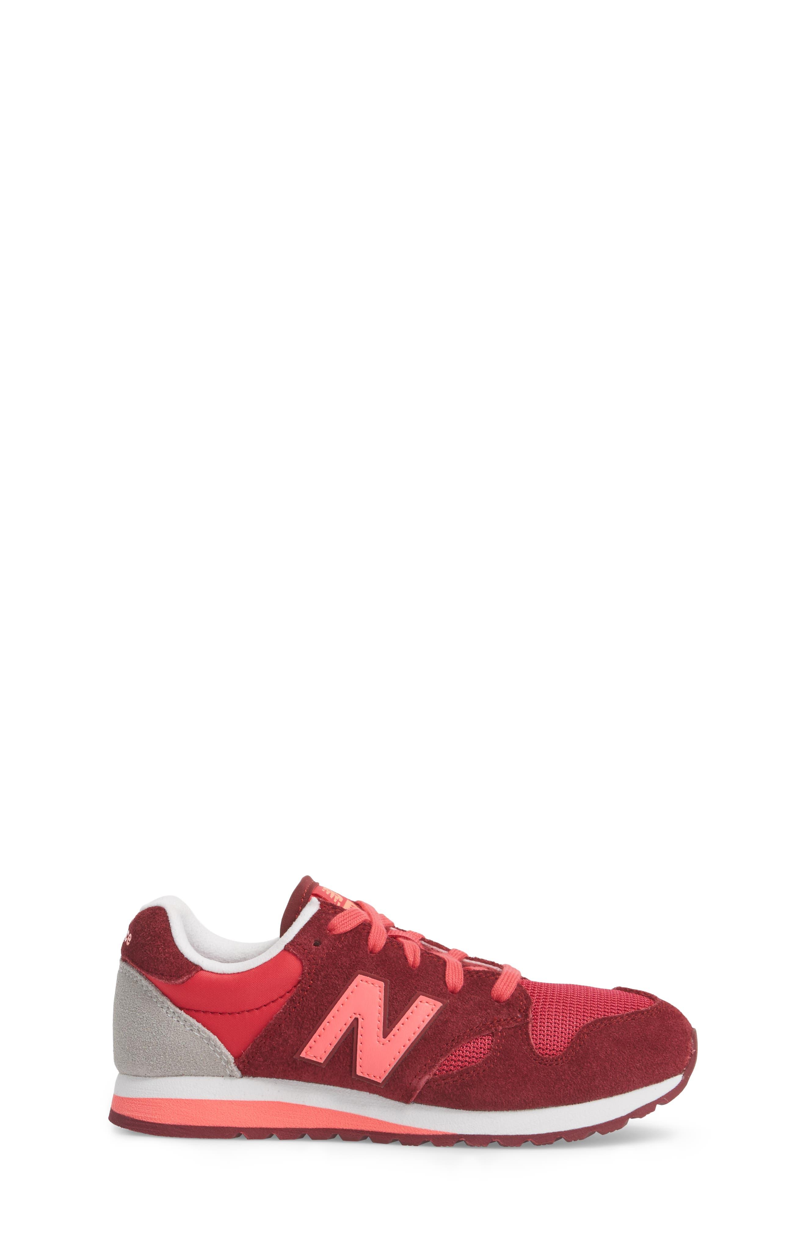 520 Sneaker,                             Alternate thumbnail 3, color,                             Pink/ Purple