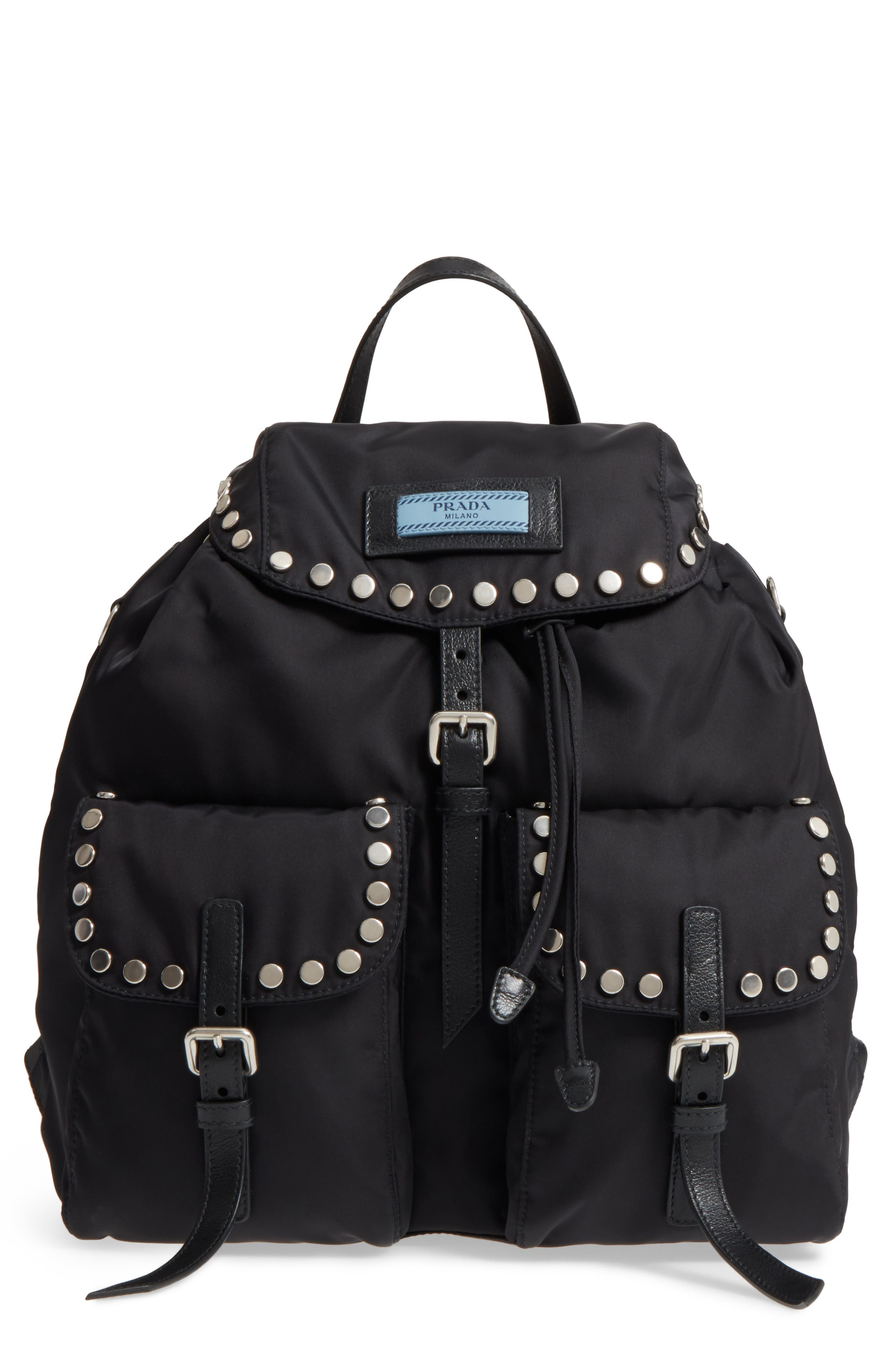 39aa6fa6fb15 ... czech prada tessuto etiquette nylon backpack 352b8 3366b
