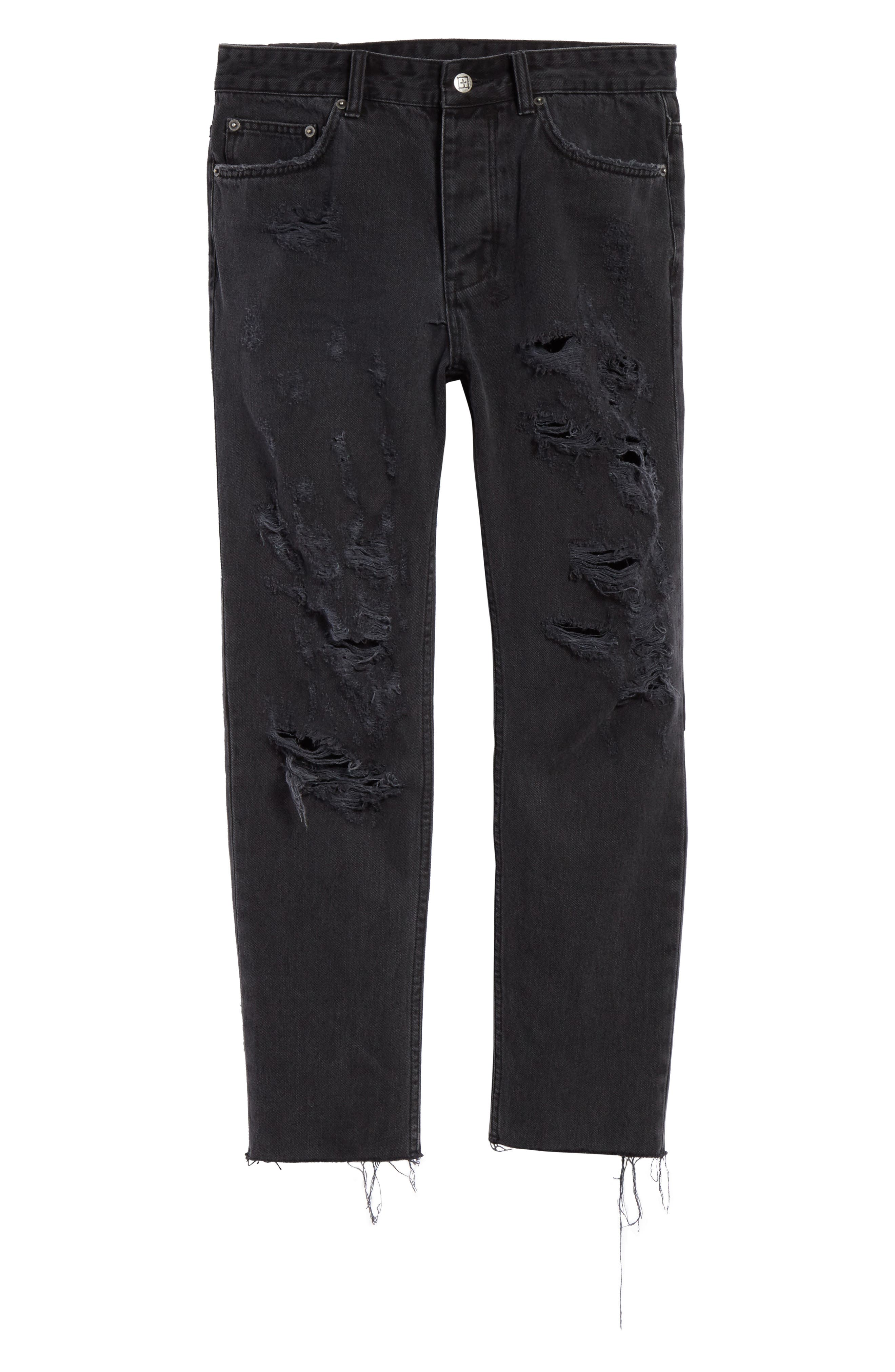 Chitch Chop Rat Attack Jeans,                             Alternate thumbnail 6, color,                             Black