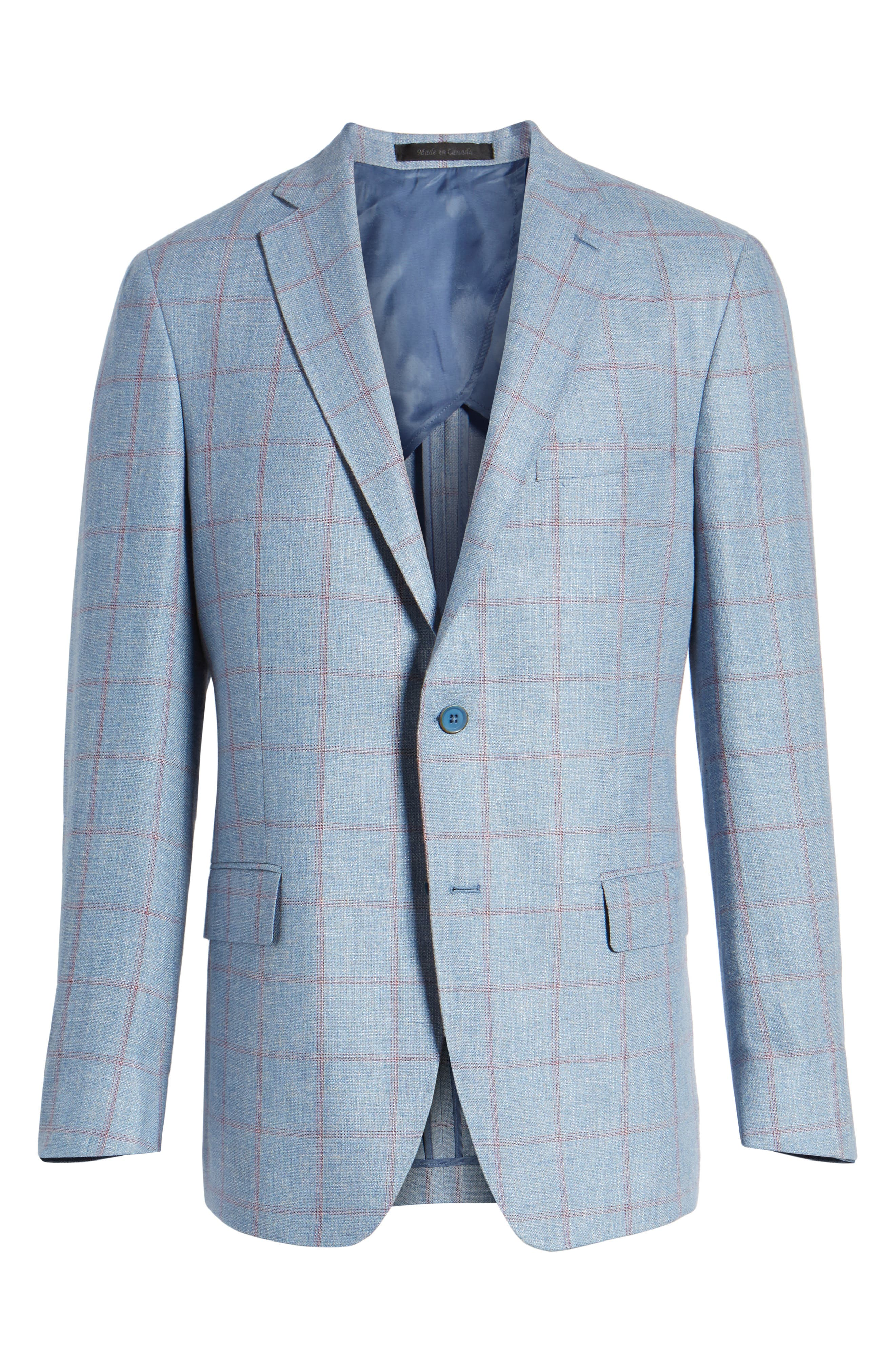 Alternate Image 6  - Hart Schaffner Marx Classic Fit Check Sport Coat