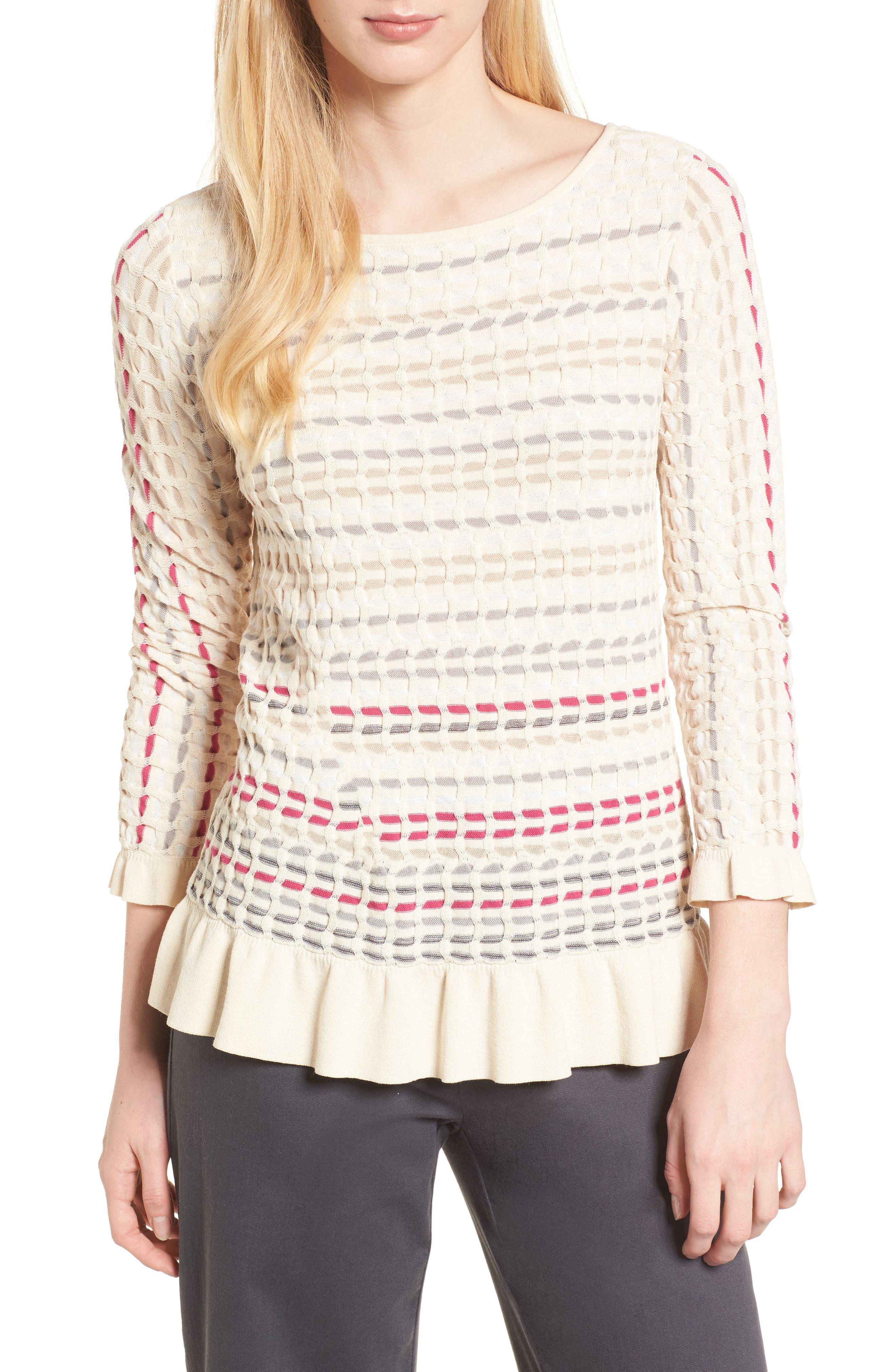 Saffron Stitch Sweater,                         Main,                         color, Multi