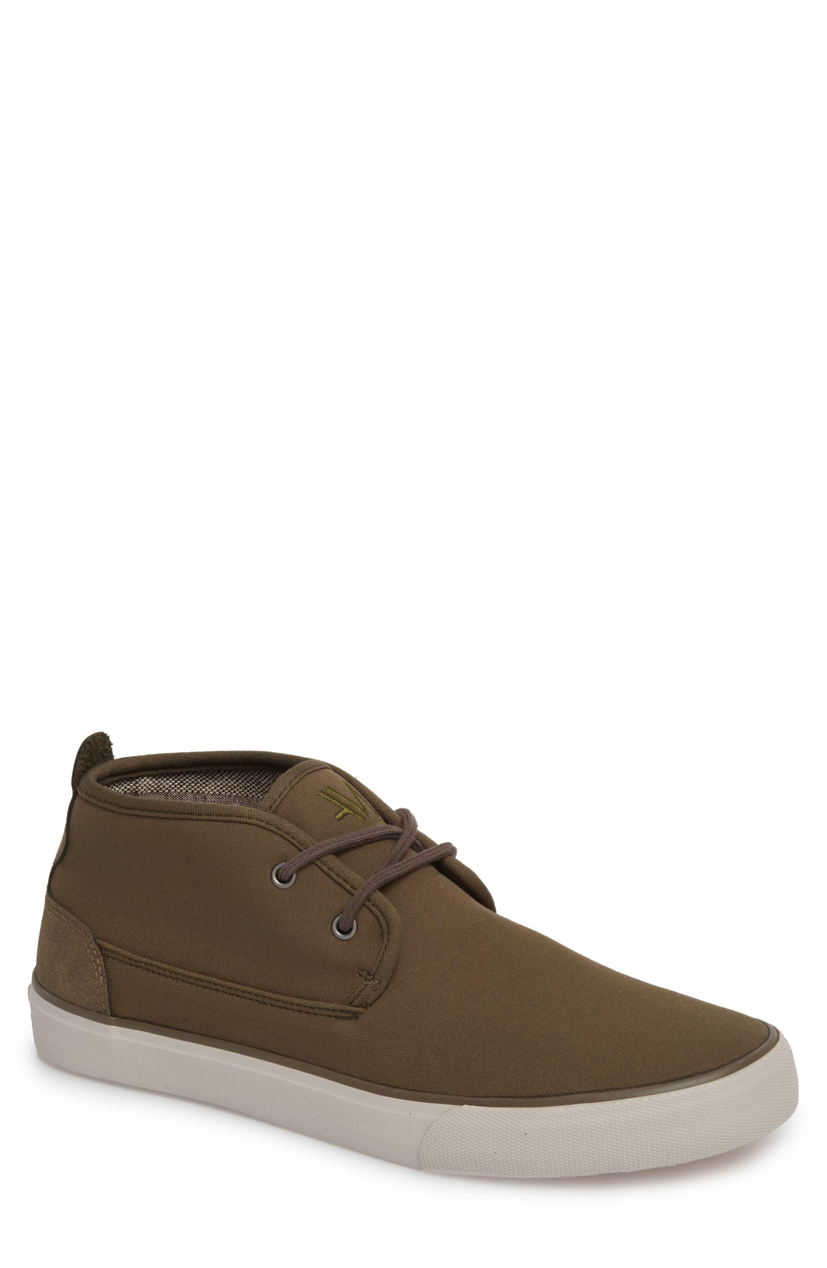 Reade Chukka Sneaker,                         Main,                         color, Olive/ Gum