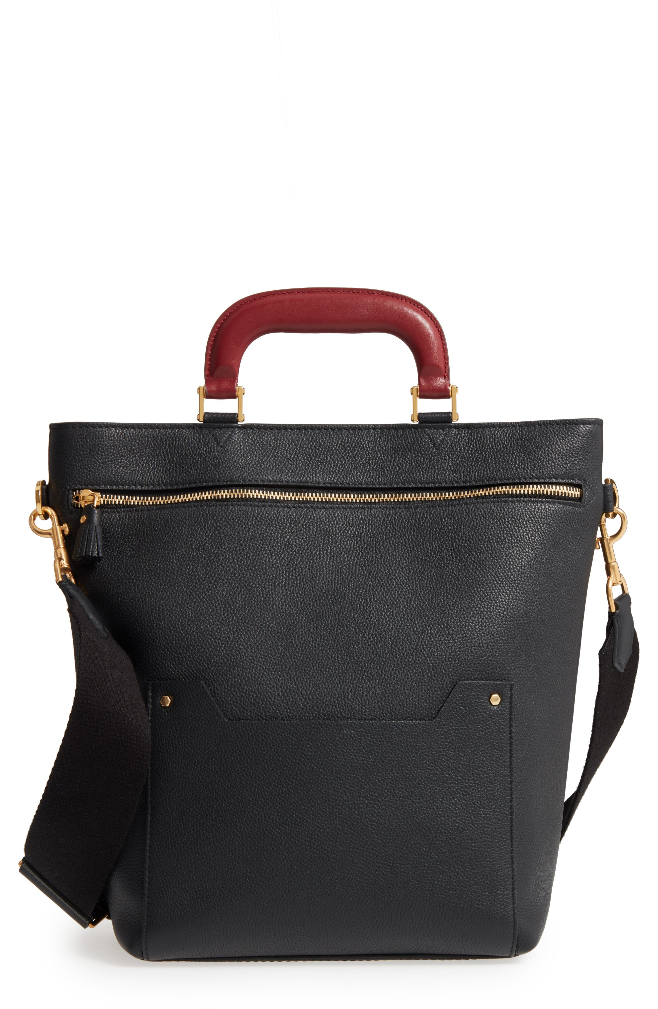 Anya Hindmarch Small Orsett Leather Shoulder Bag