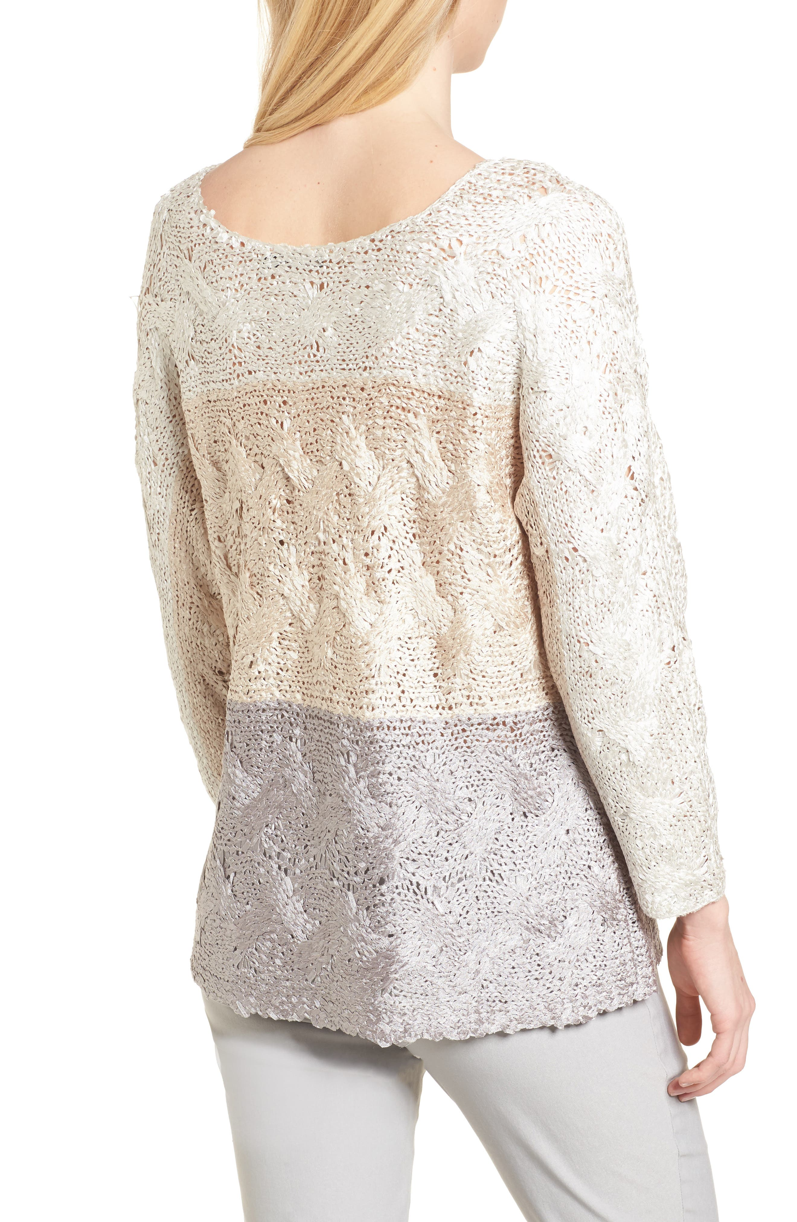 Alternate Image 2  - NIC+ZOE Daydreamer Ombré Sweater