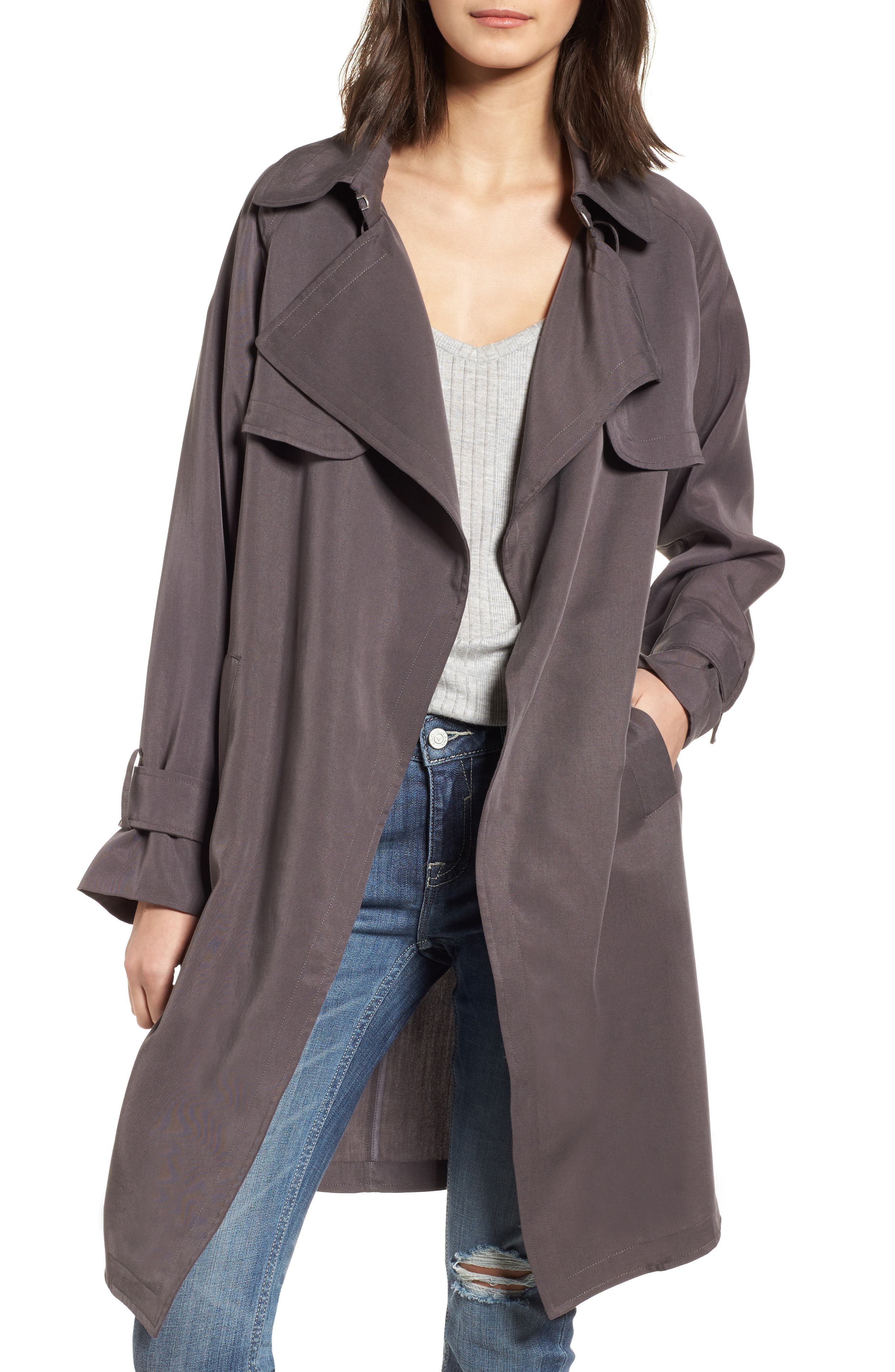 Vigoss Ella Drape Trench Coat
