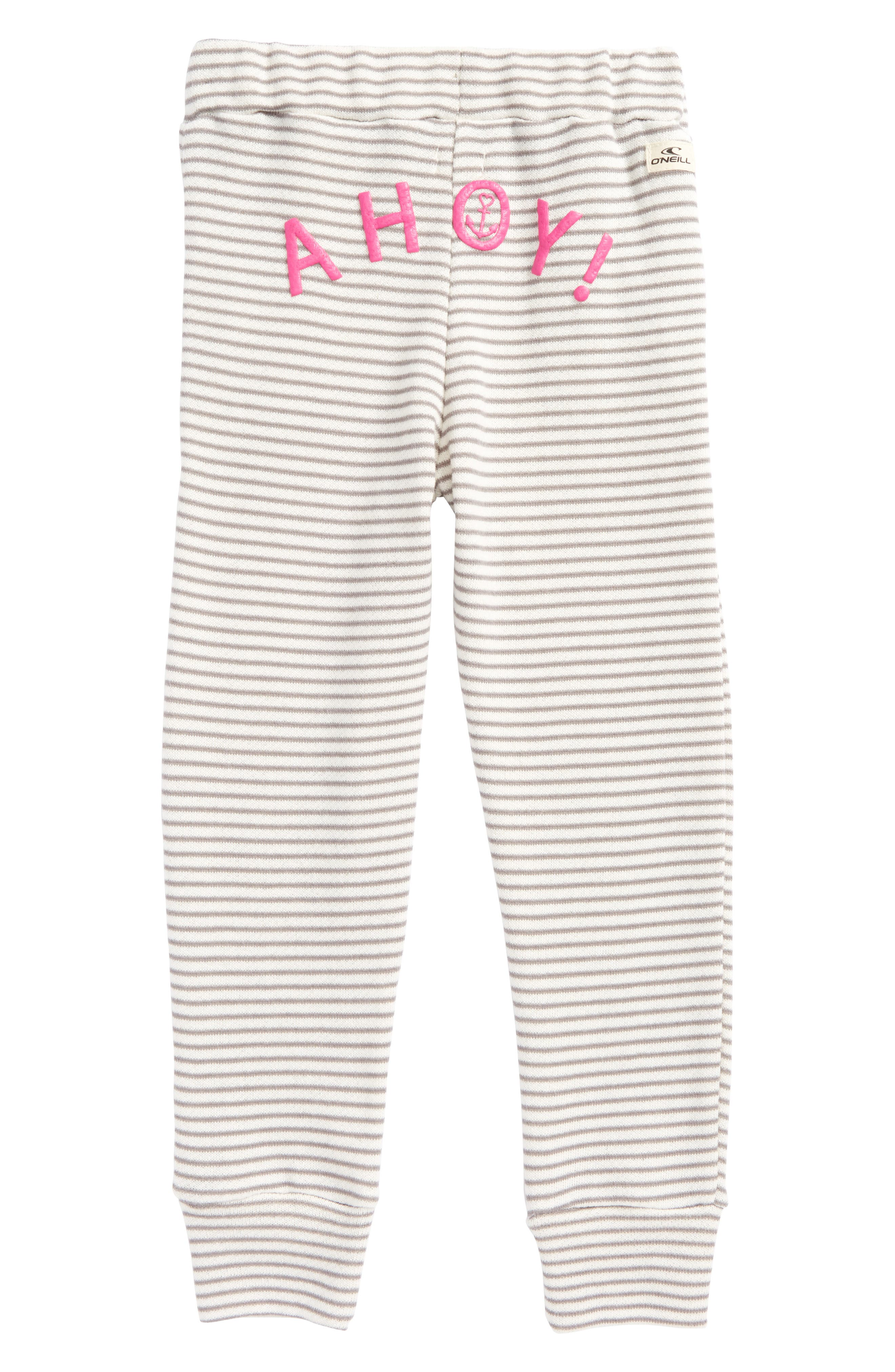 Shore Ahoy! French Terry Pants,                             Alternate thumbnail 2, color,                             Grey - Gry