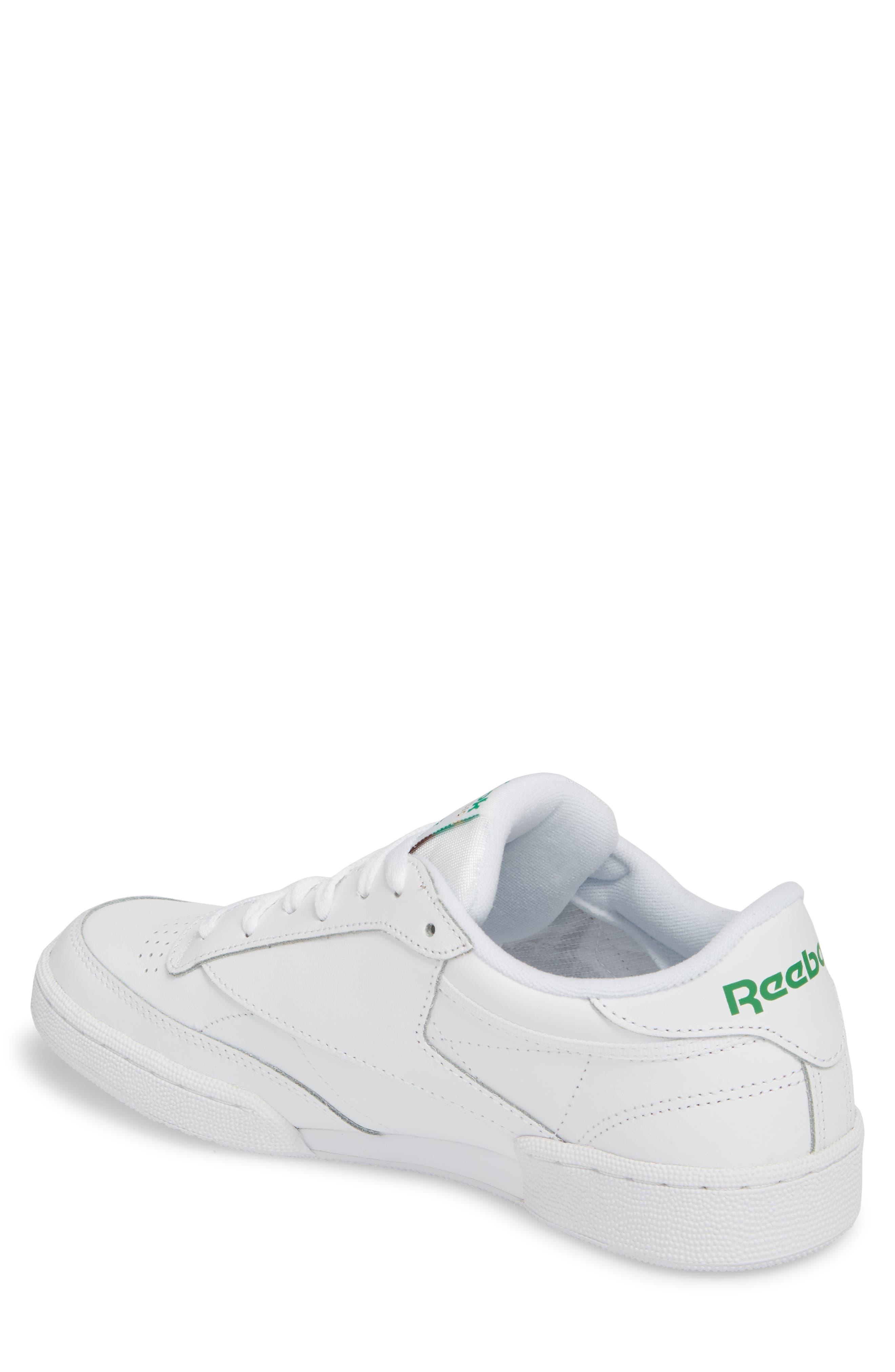 Club C 85 Sneaker,                             Alternate thumbnail 2, color,                             White