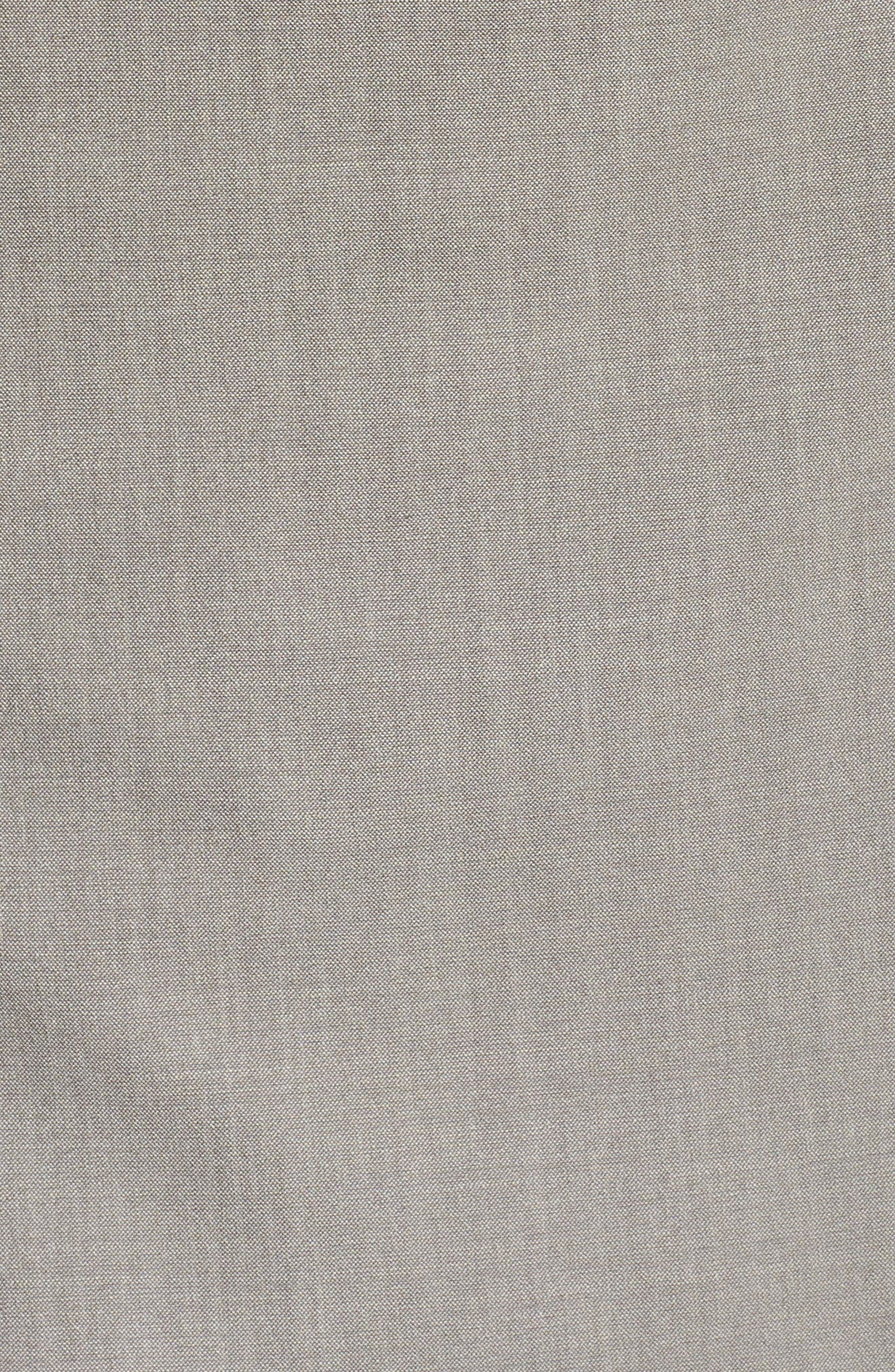 Lyndon Stretch Wool Blazer,                             Alternate thumbnail 6, color,                             Feather Grey Melange