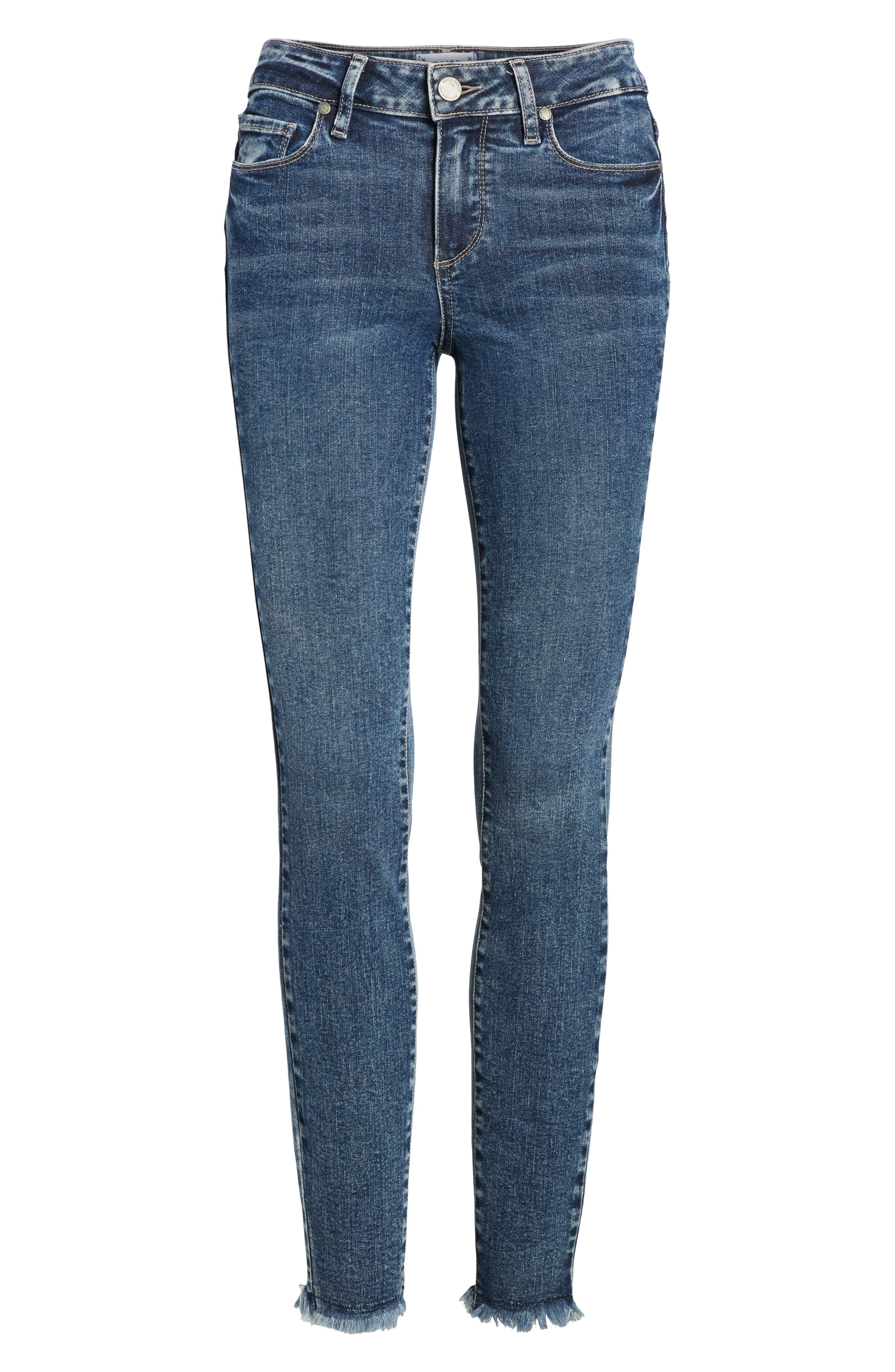 Transcend Vintage - Verdugo Ultra Skinny Jeans,                             Alternate thumbnail 7, color,                             Iness