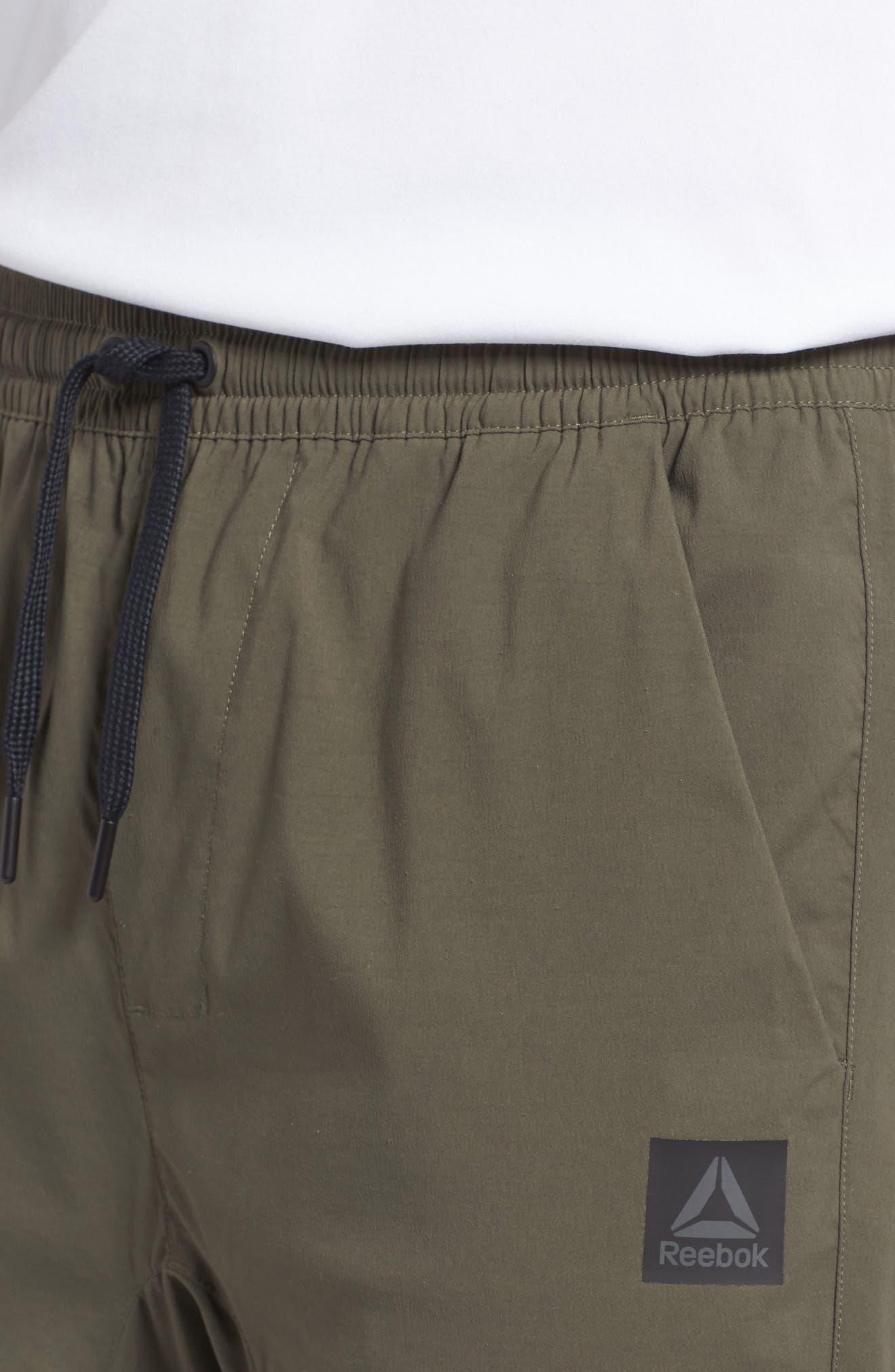 Woven Jogger Pants,                             Alternate thumbnail 4, color,                             Army Green