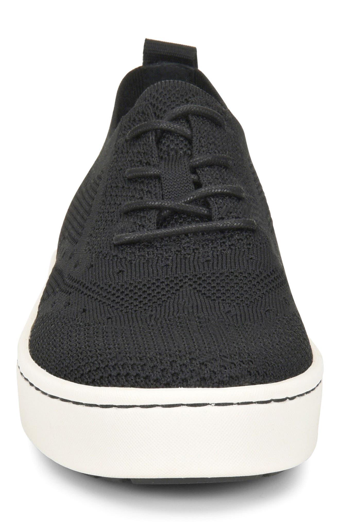 Bearse Sneaker,                             Alternate thumbnail 4, color,                             Black Knit