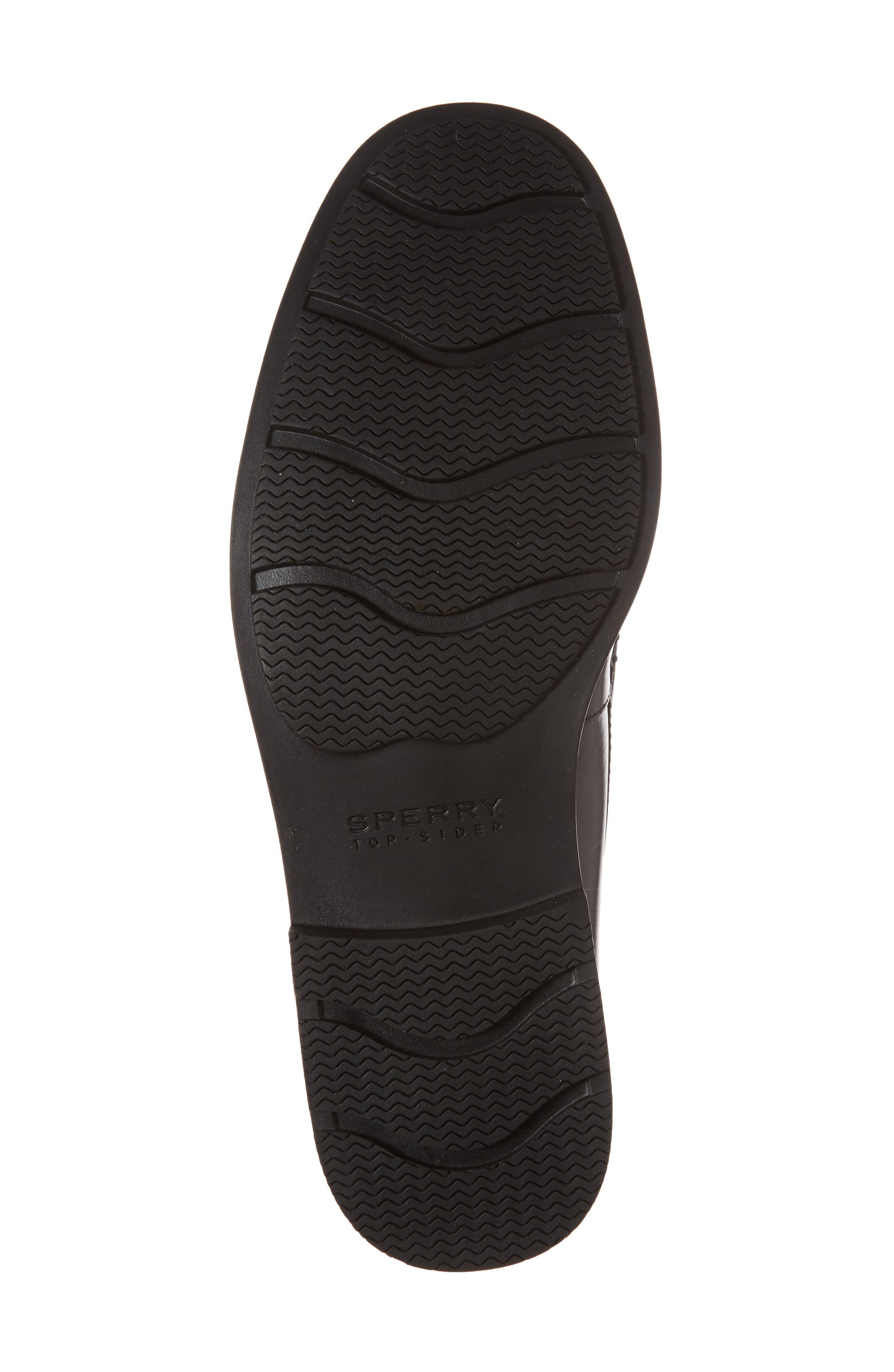 Essex Venetian Loafer,                             Alternate thumbnail 6, color,                             Black Leather