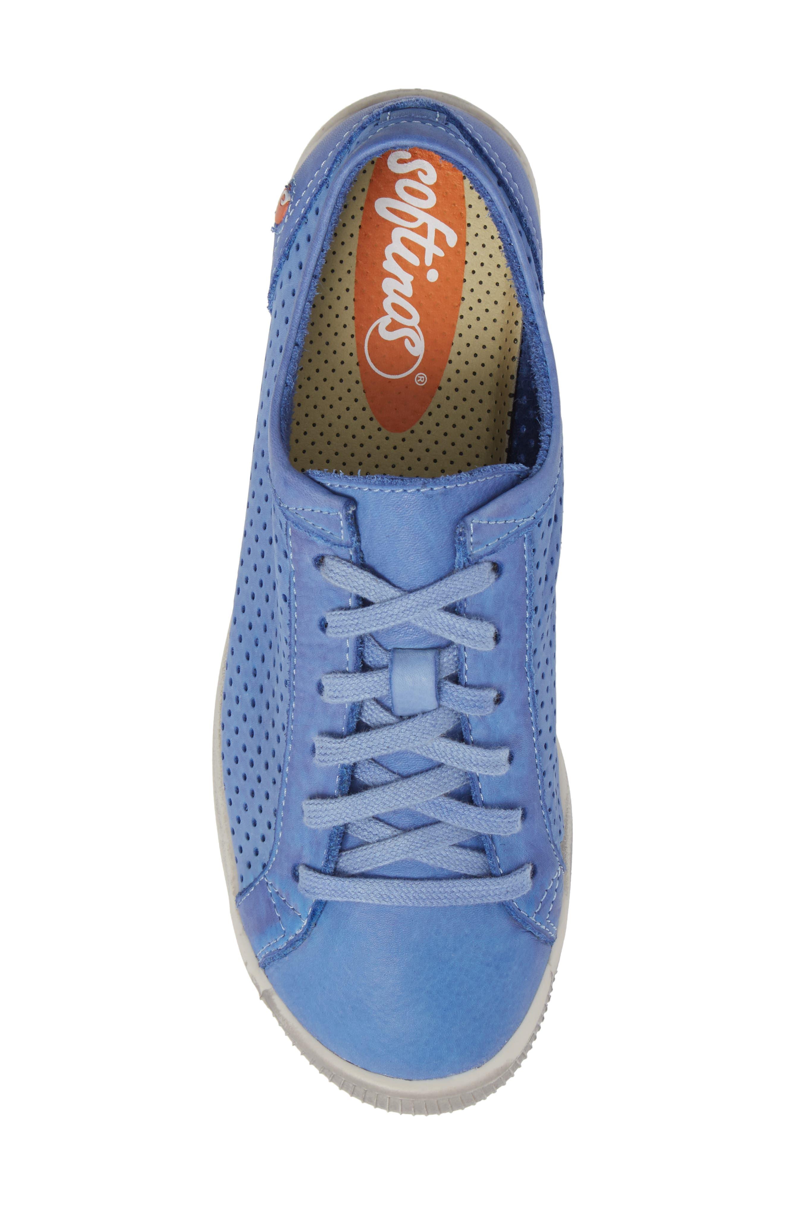 Ica Sneaker,                             Alternate thumbnail 5, color,                             Lavender Leather