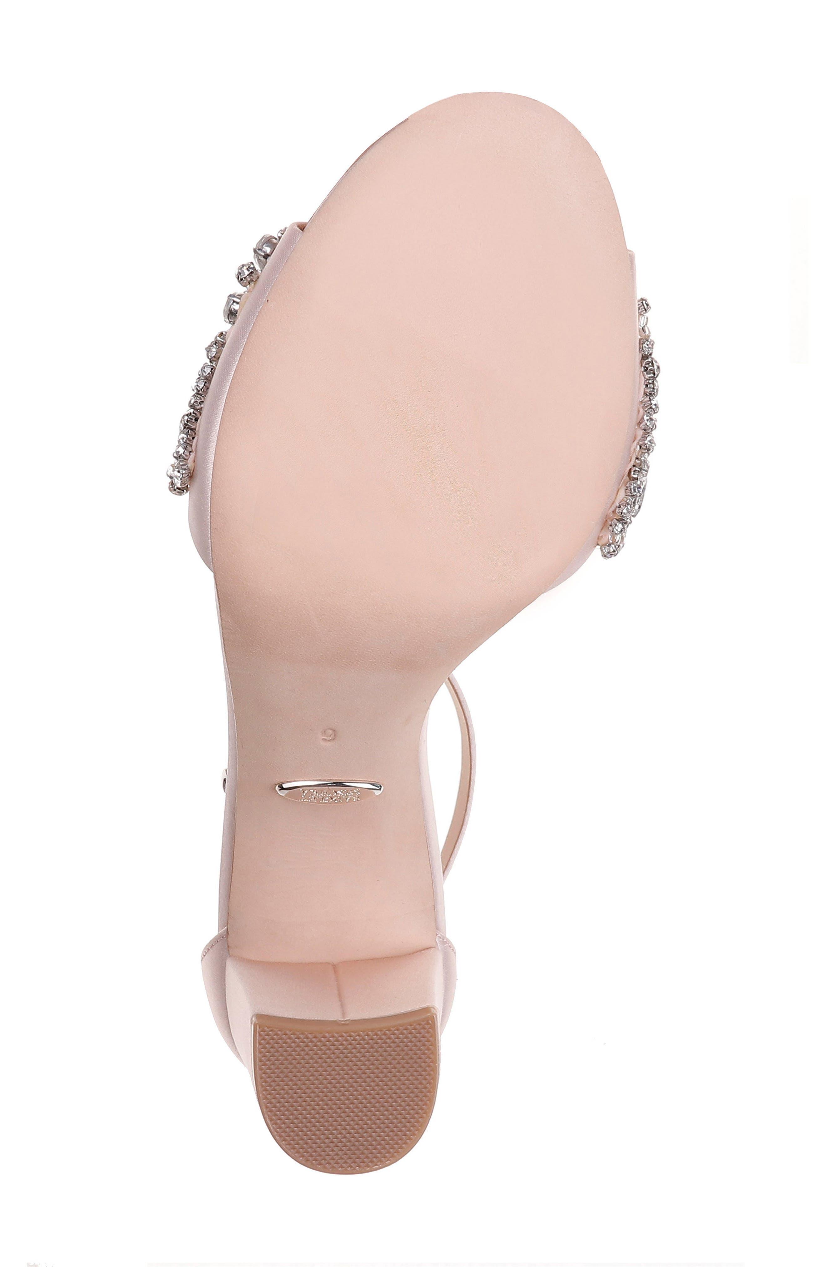 Alternate Image 6  - Badgley Mischka Hines Embellished Block Heel Sandal (Women)