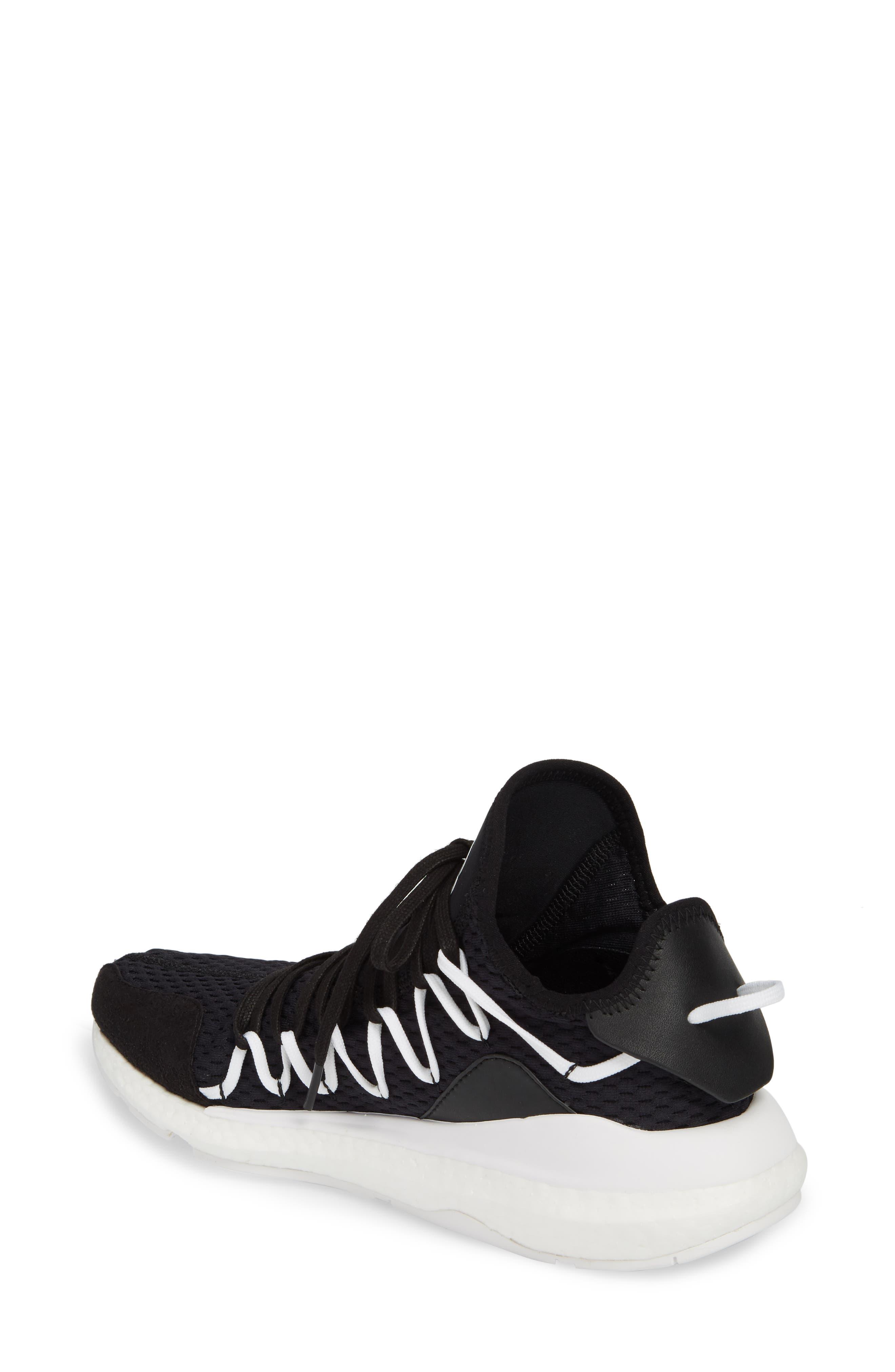 x adidas Kusari Sneaker,                             Alternate thumbnail 2, color,                             Black