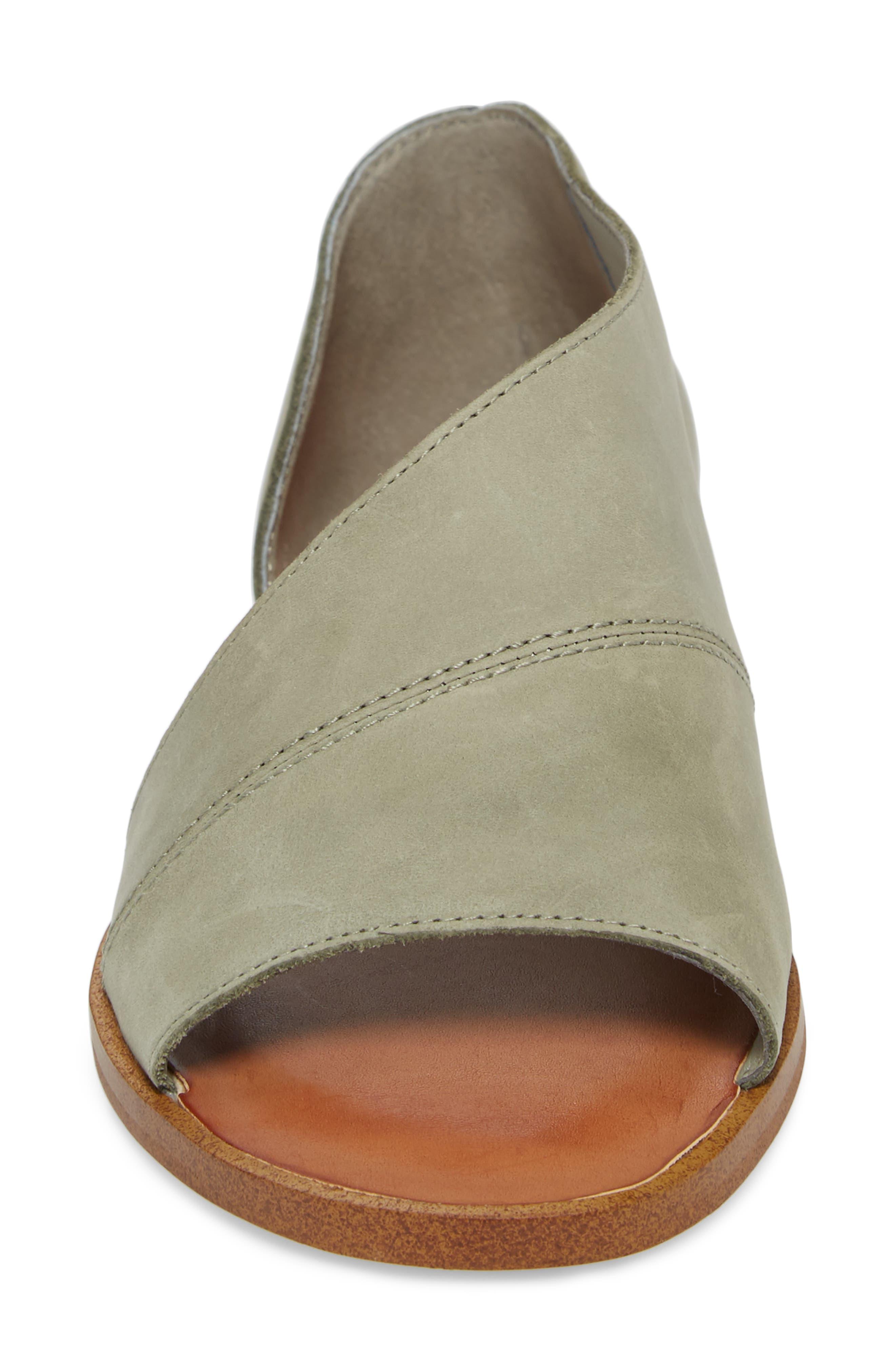 Celvin Sandal,                             Alternate thumbnail 4, color,                             Nettle Leather