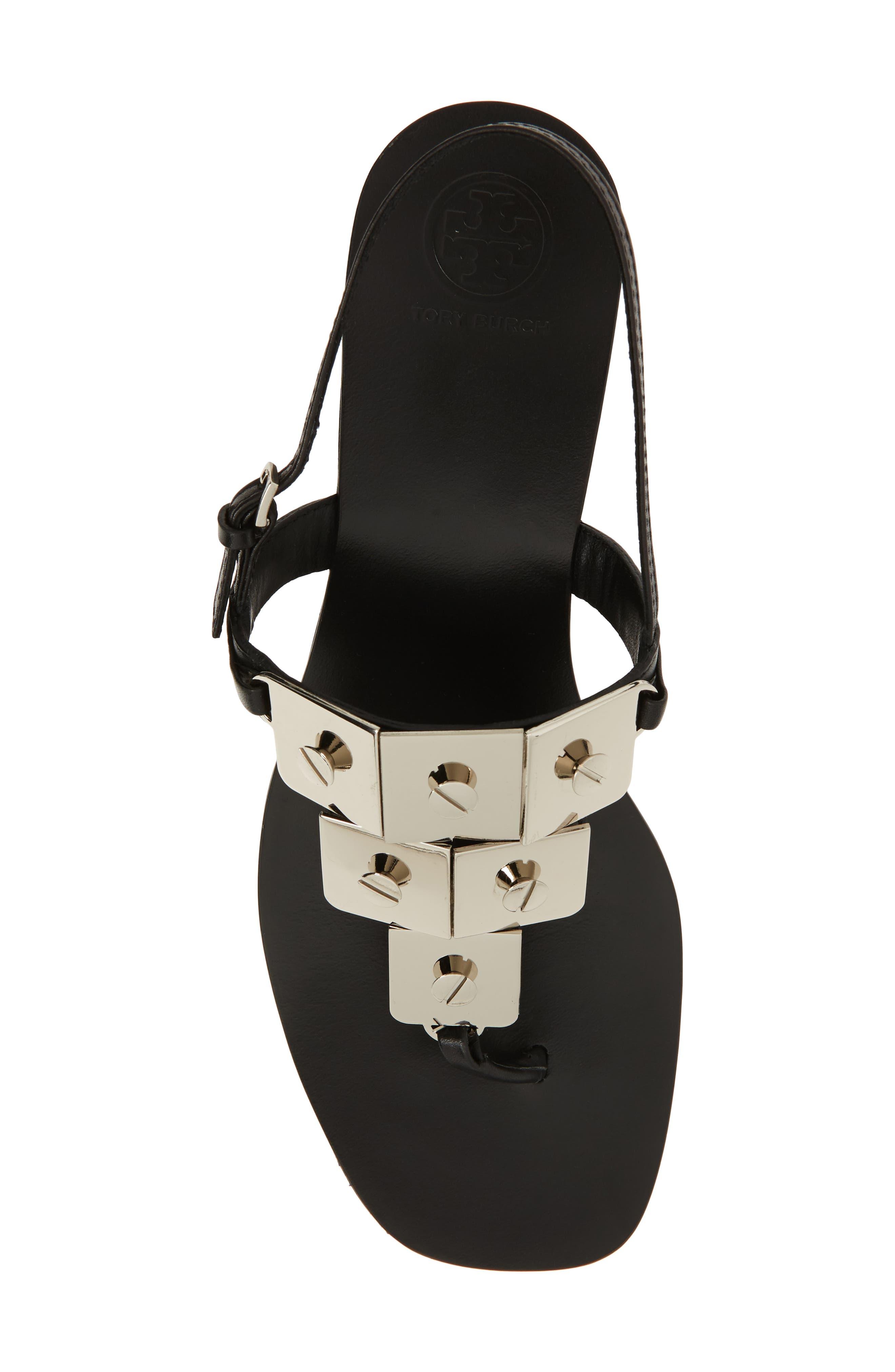 Thompson Sandal,                             Alternate thumbnail 5, color,                             Perfect Black