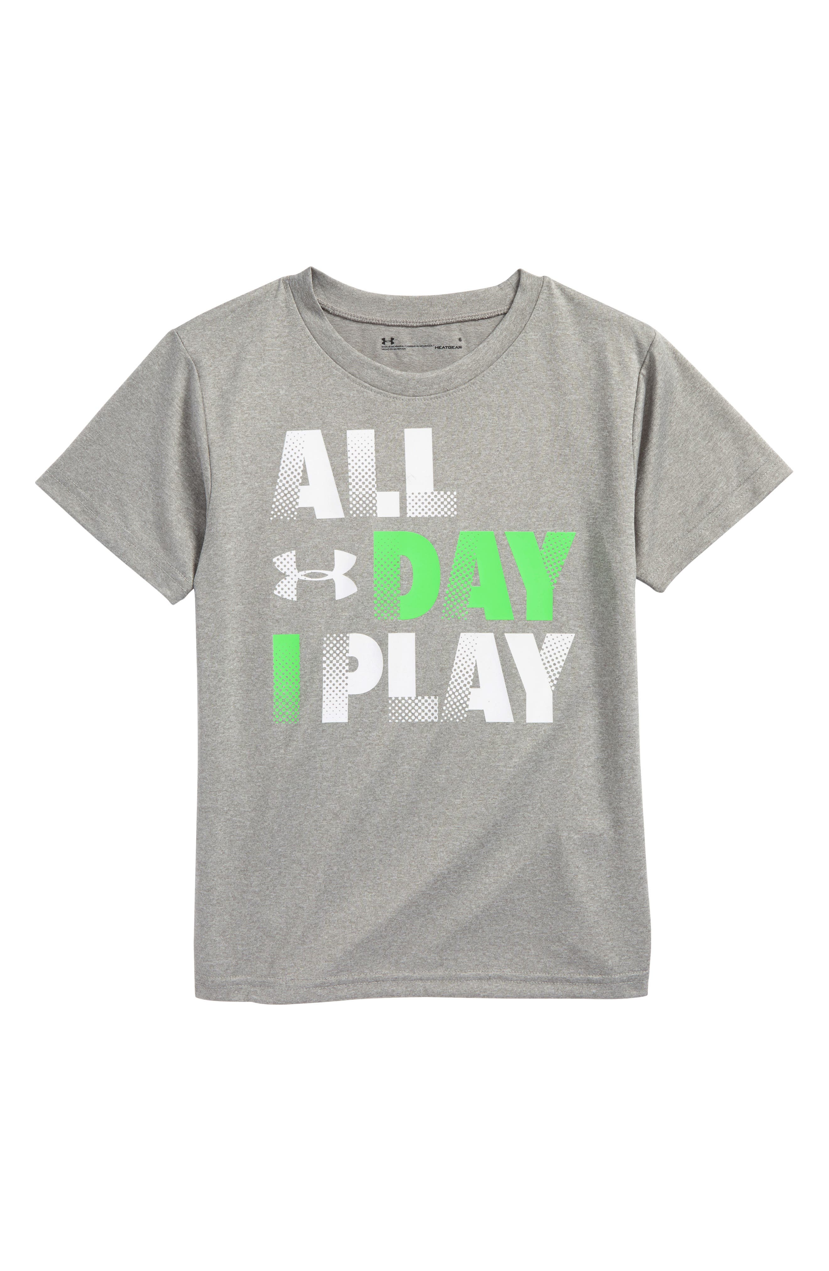 Under Armour All Day I Play Graphic T-Shirt (Toddler Boys & Little Boys)