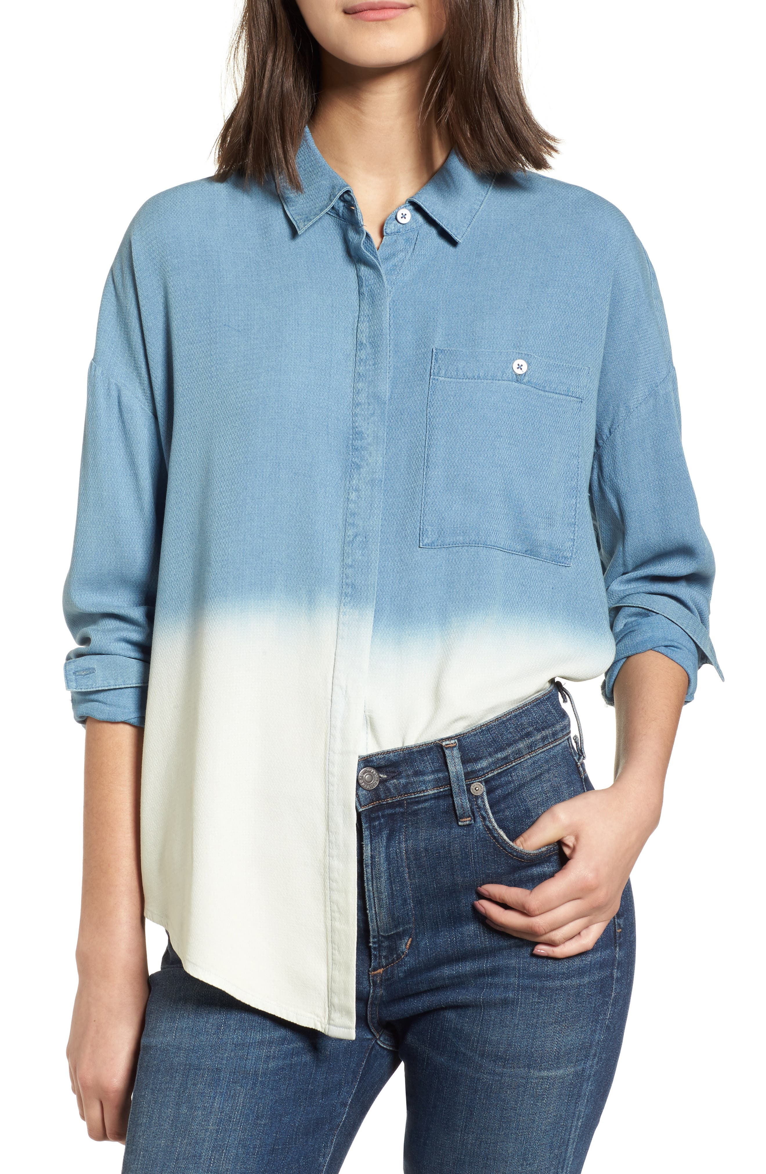 Splendid Ombré Shirt