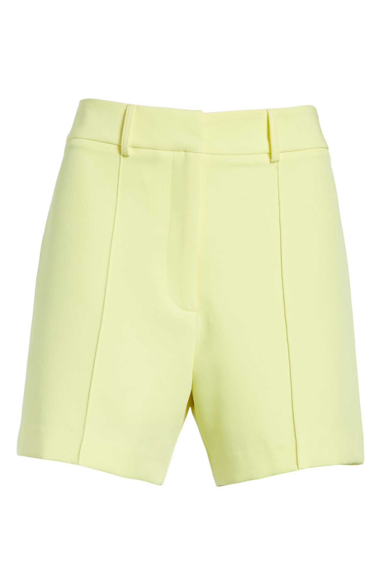 Hayden Trouser Shorts,                             Alternate thumbnail 6, color,                             Lemon Yellow