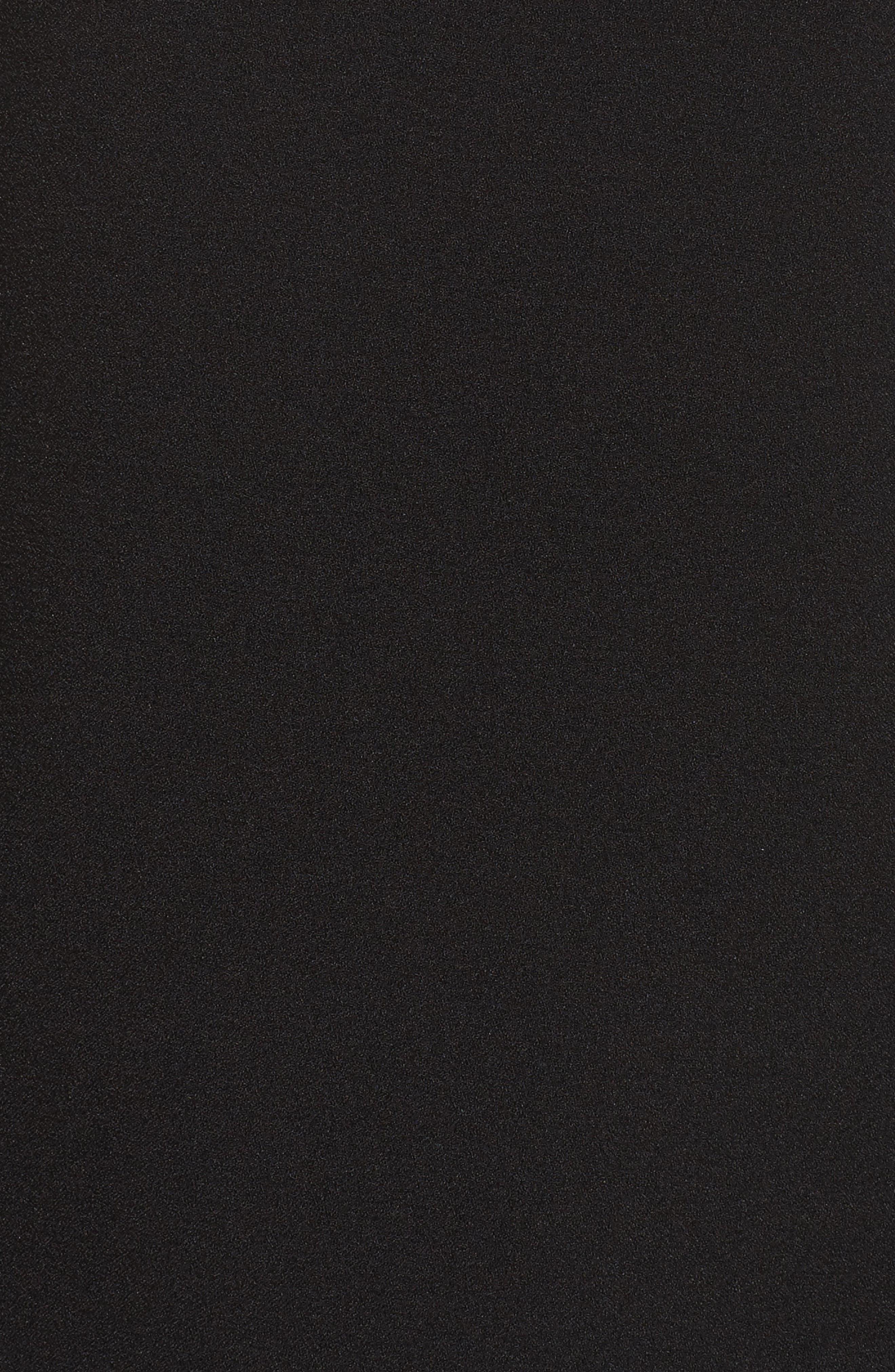 Alternate Image 5  - Eliza J Bell Sleeve Crepe Shift Dress (Regular & Petite)