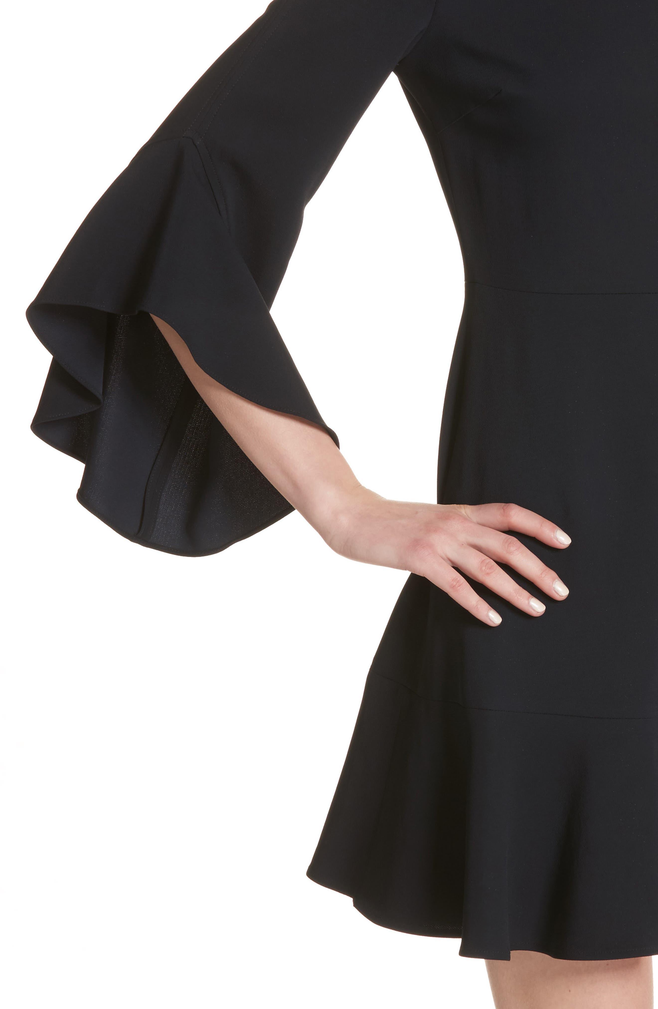 Cassidy Dress,                             Alternate thumbnail 4, color,                             Midnight