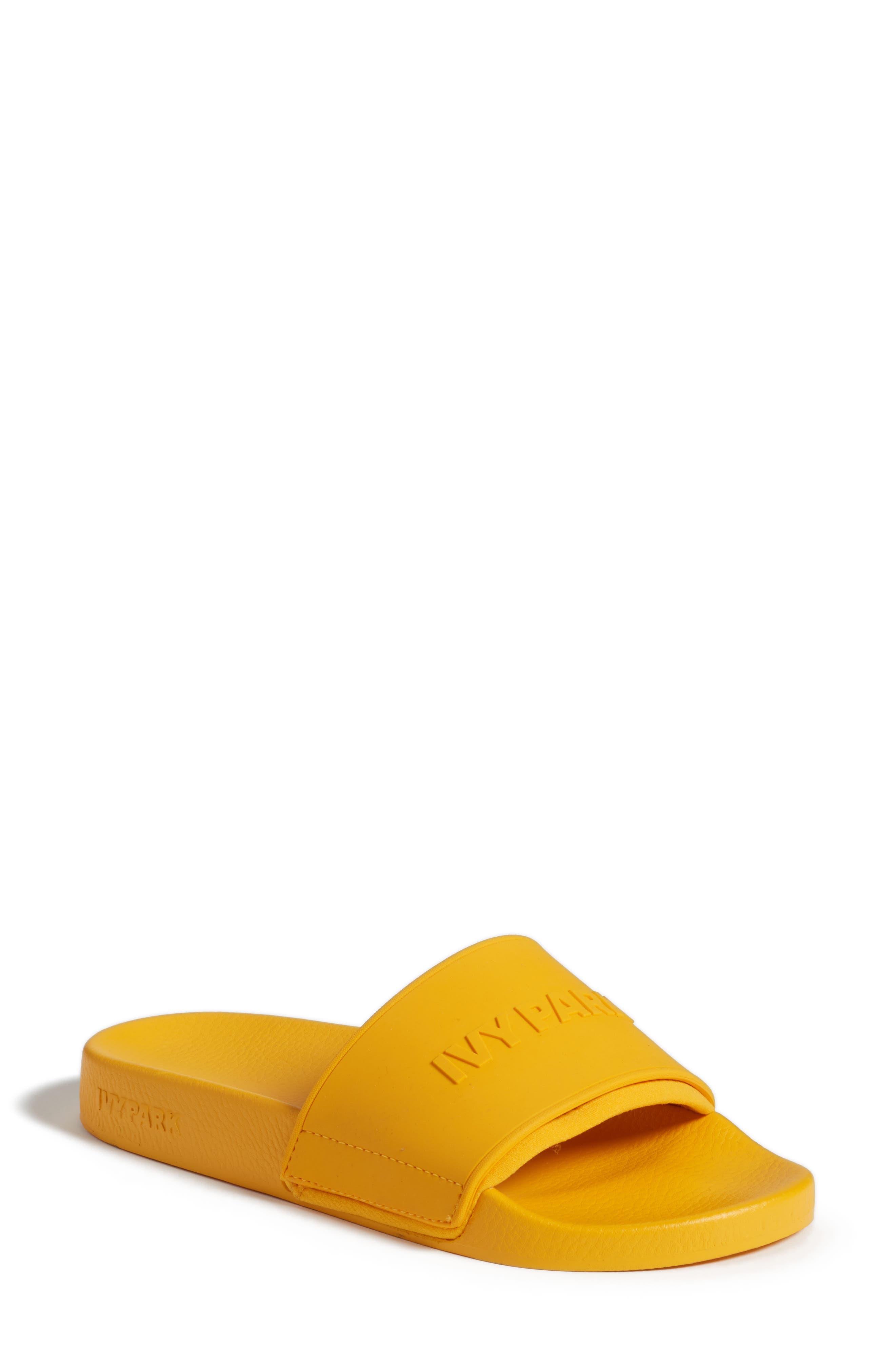 IVY PARK® Embossed Neoprene Lined Slide Sandal (Women)