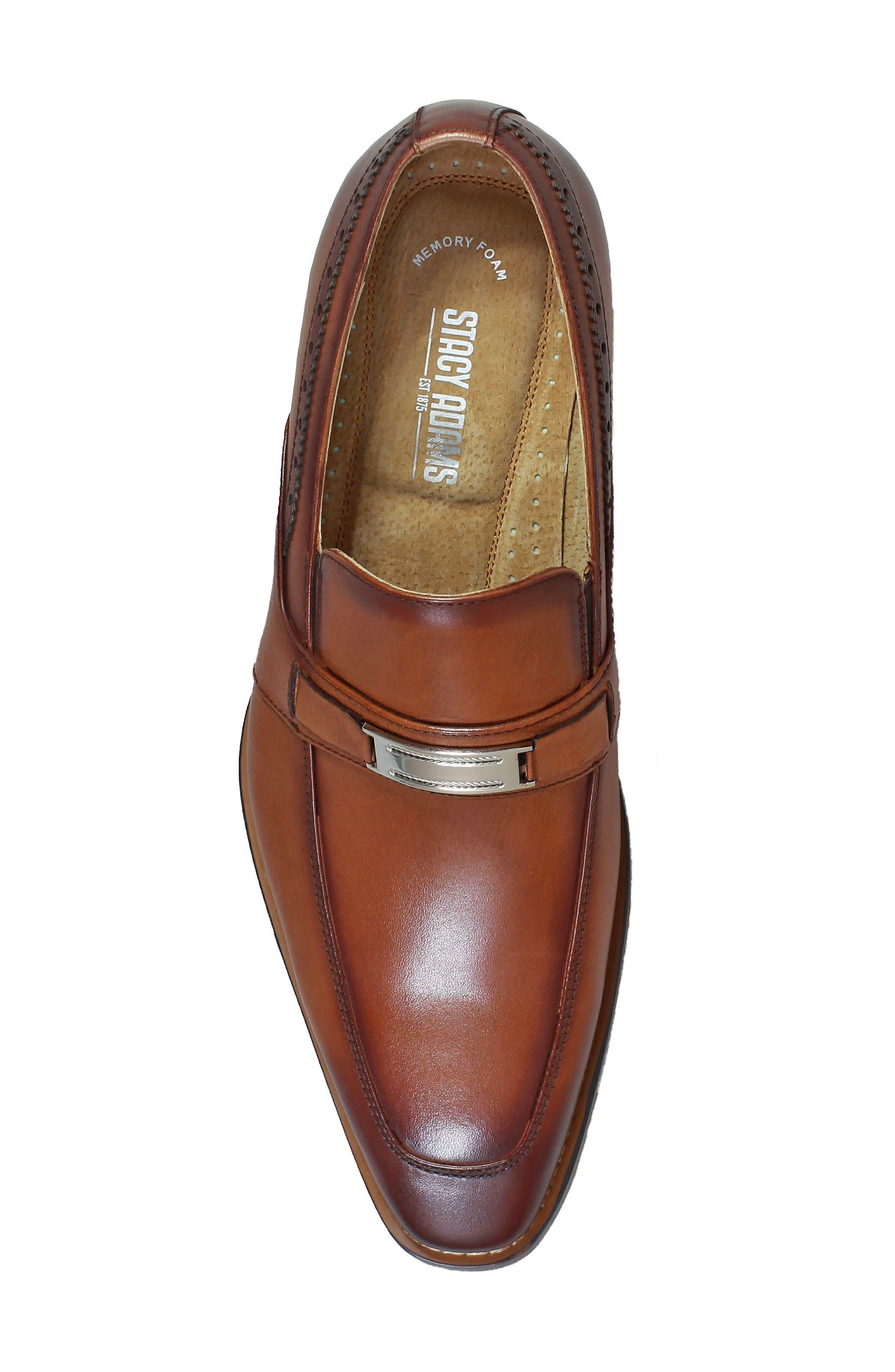 Shaw Bit Loafer,                             Alternate thumbnail 5, color,                             Cognac Leather