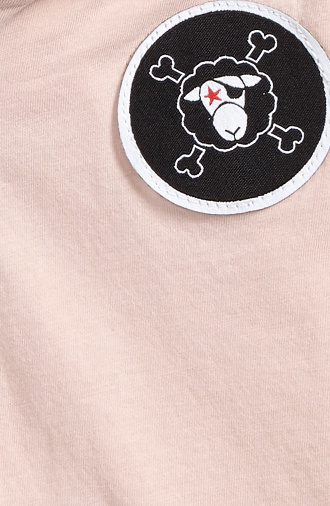 Patch Hoodie,                             Alternate thumbnail 2, color,                             Powder Pink