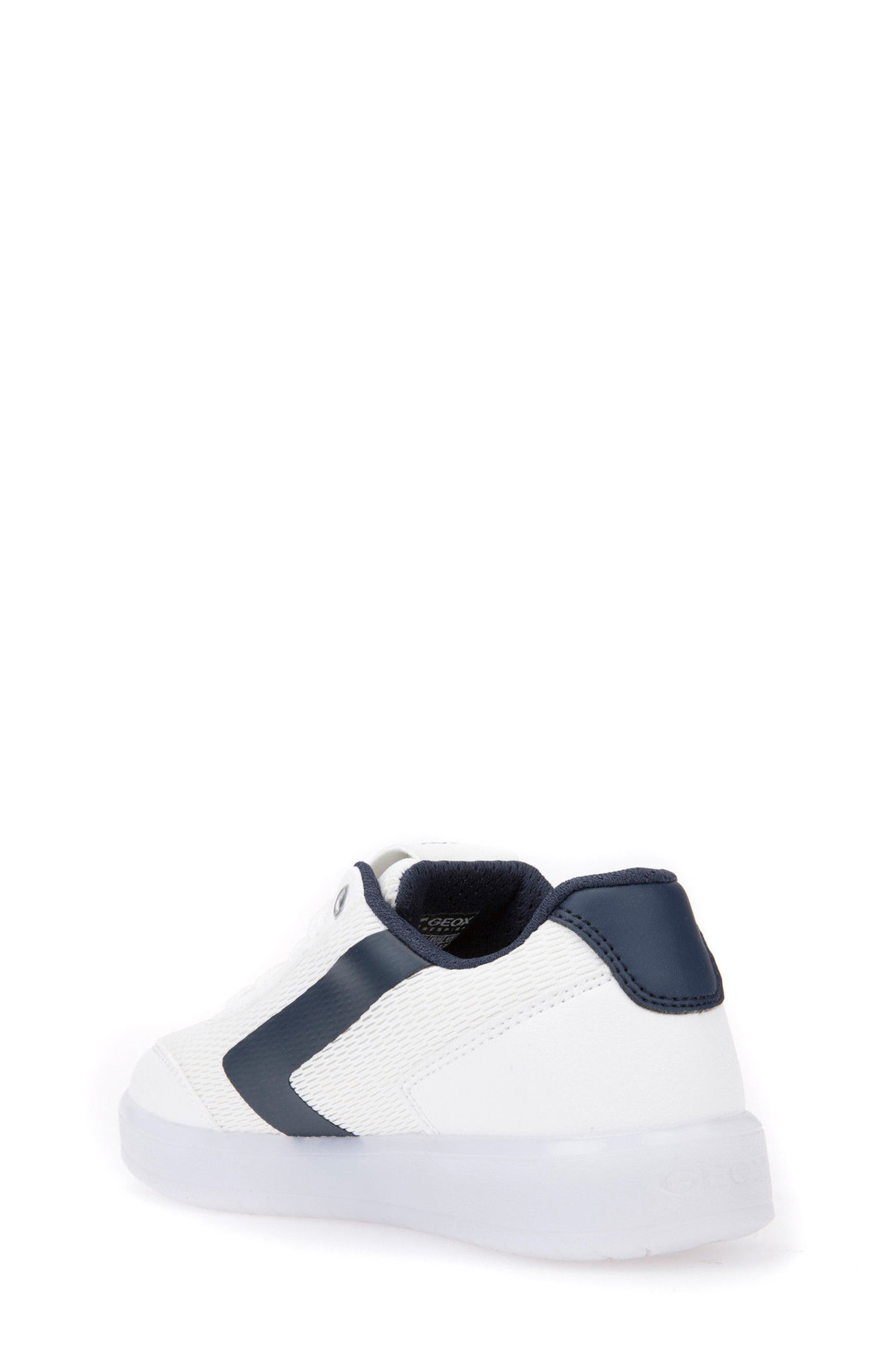 Kommodor Light-Up Low Top Sneaker,                             Alternate thumbnail 2, color,                             White/ Navy