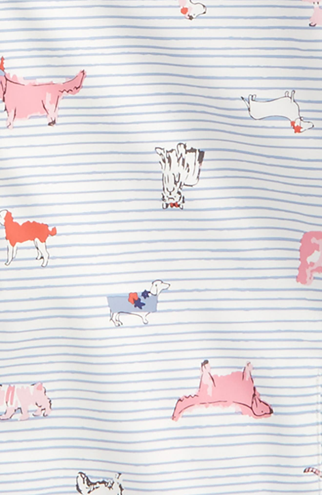 Fleece Lined Rain Jacket,                             Alternate thumbnail 2, color,                             Sunday Best Dog