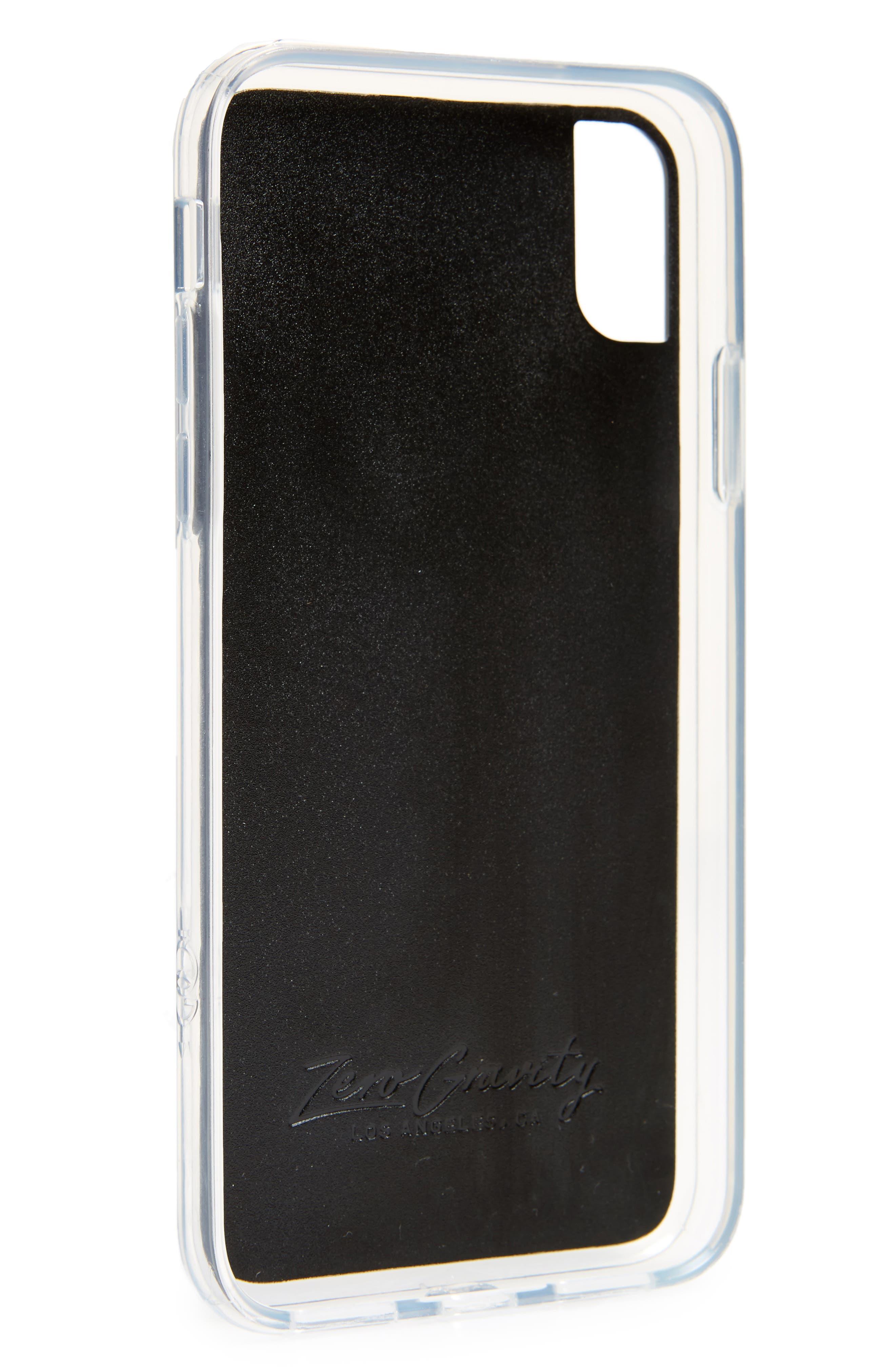 Bouquet iPhone X Case,                             Alternate thumbnail 2, color,                             Holographic