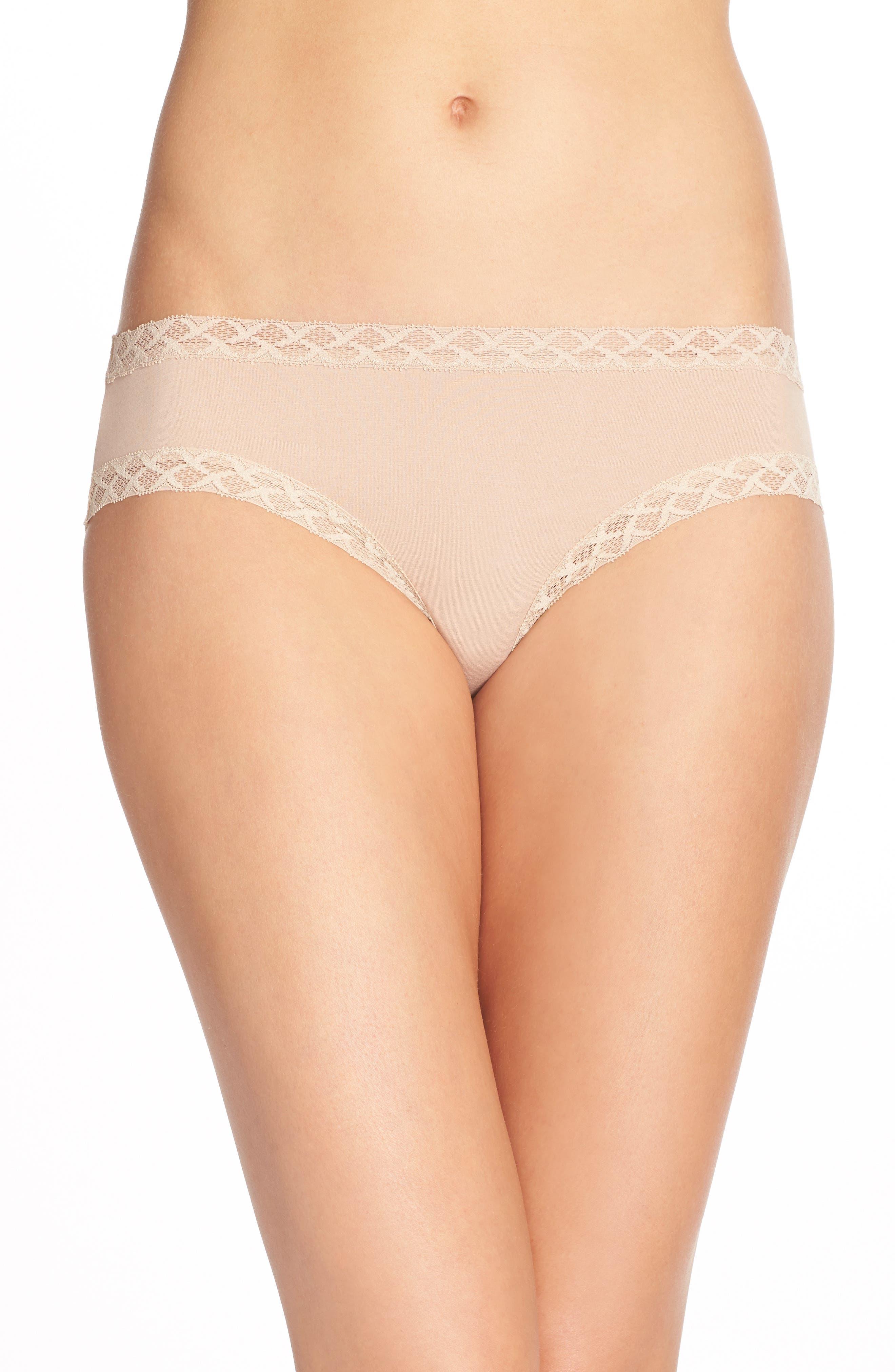 Natori Bliss Cotton Girl Briefs (3 for $45)