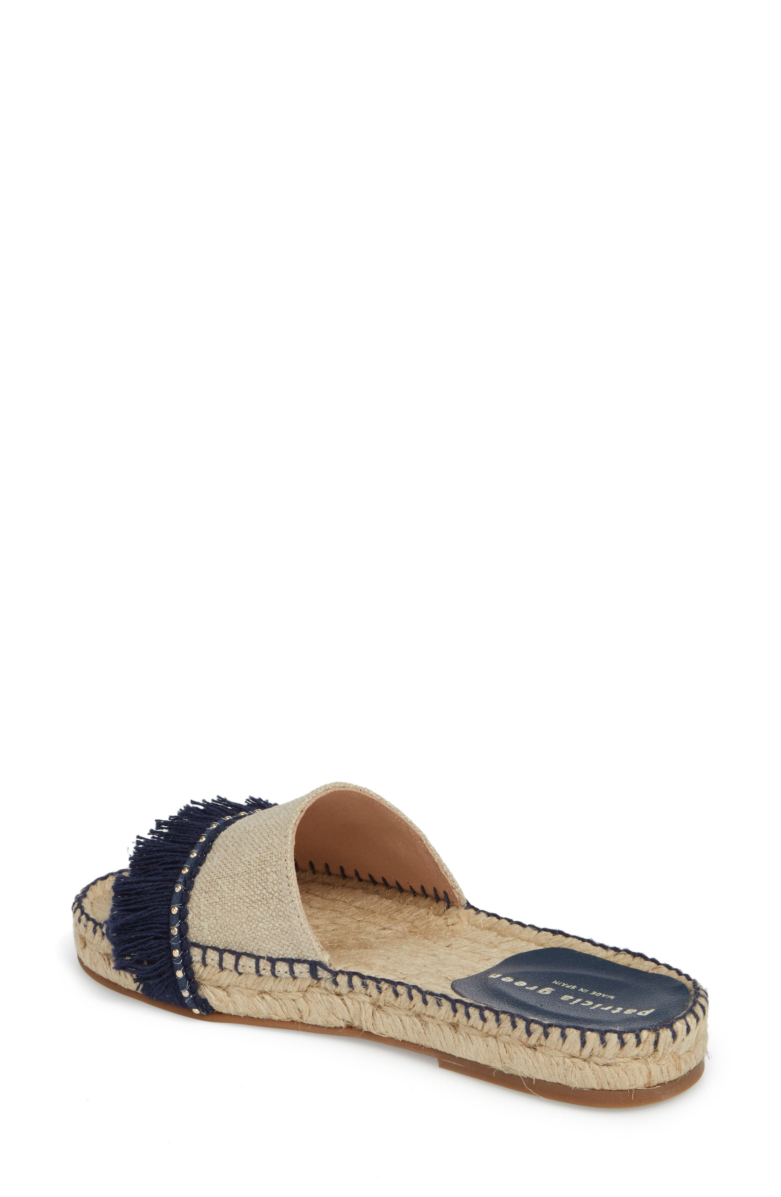 Bahama Espadrille Sandal,                             Alternate thumbnail 2, color,                             Navy Leather