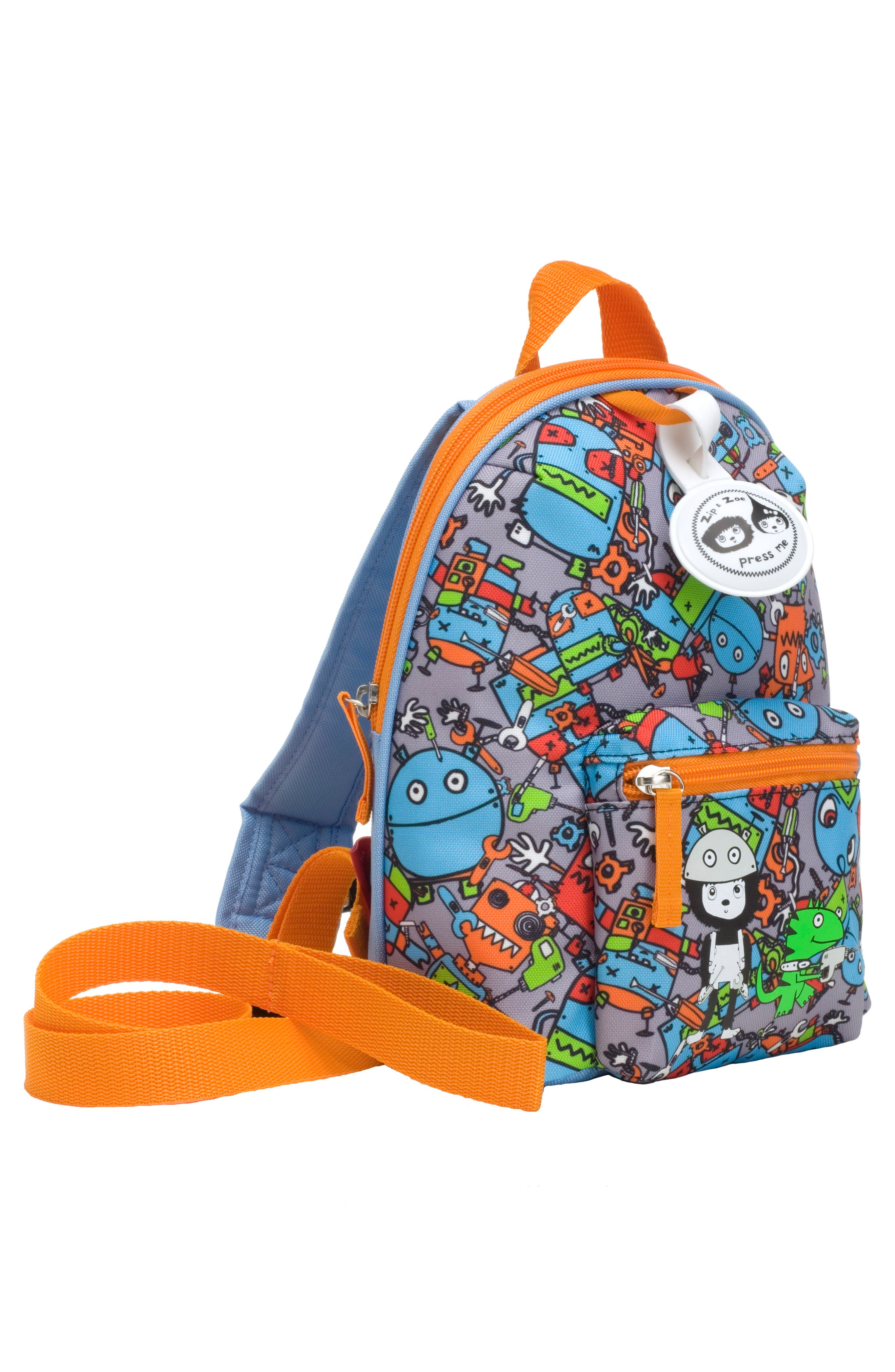 Alternate Image 4  - Babymel Zip & Zoe Robots Mini Backpack (Kids)