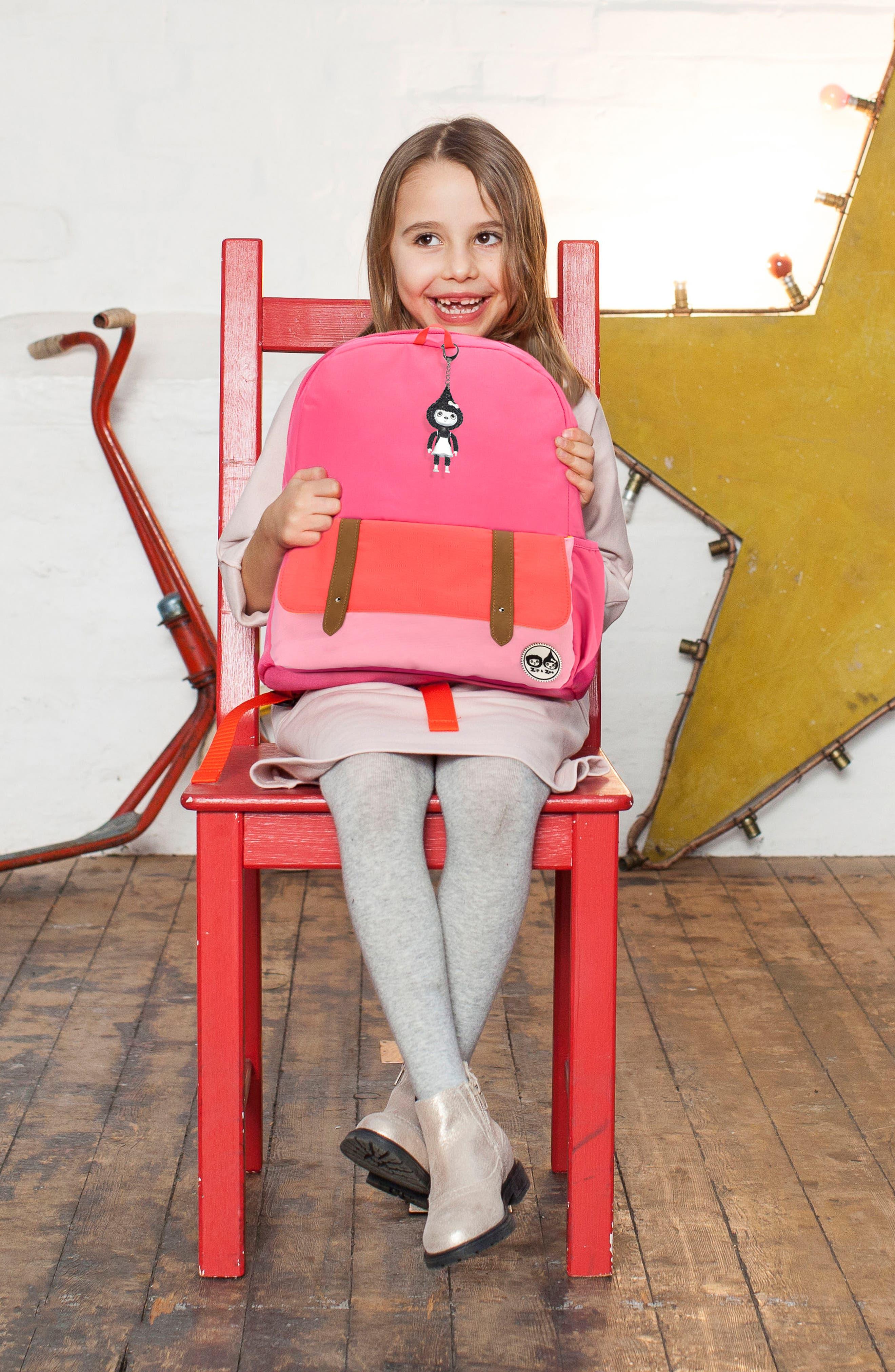 Alternate Image 12  - Babymel Zip & Zoe Colorblock Junior Backpack (Kids)