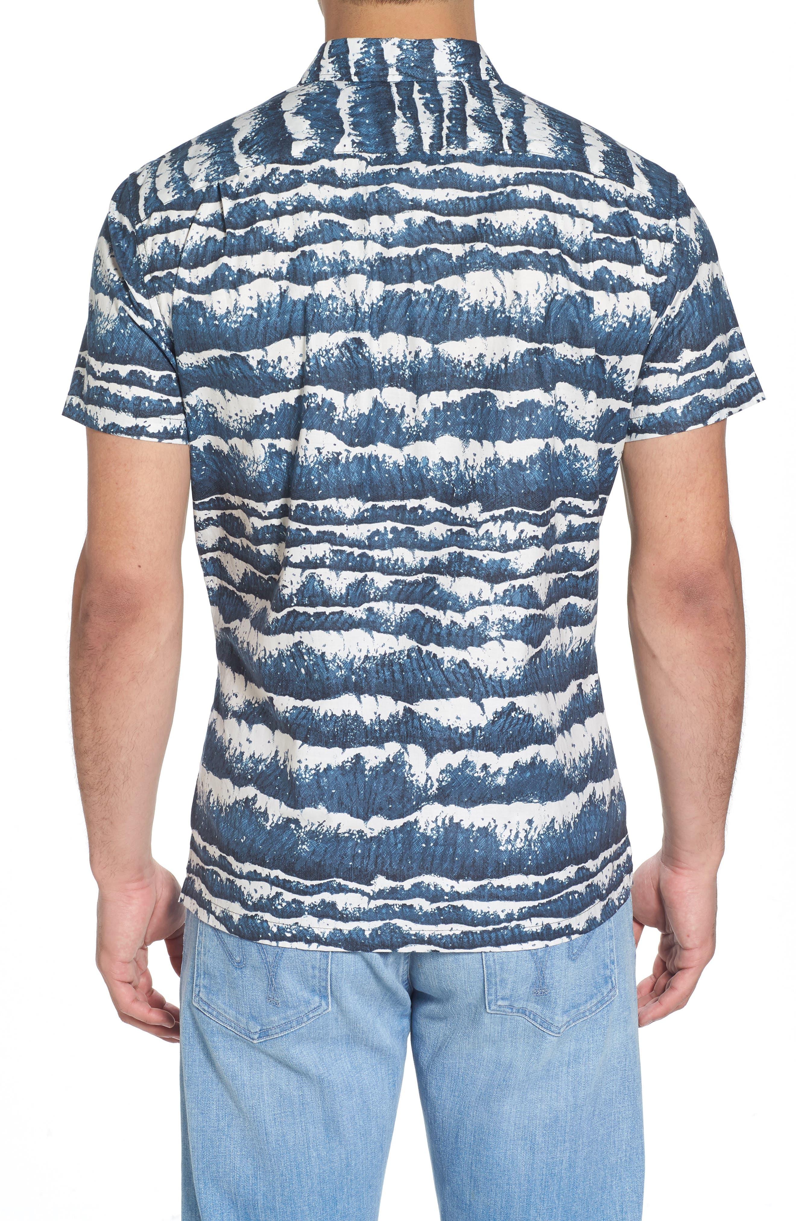 Sport Shirt,                             Alternate thumbnail 2, color,                             Charcoal