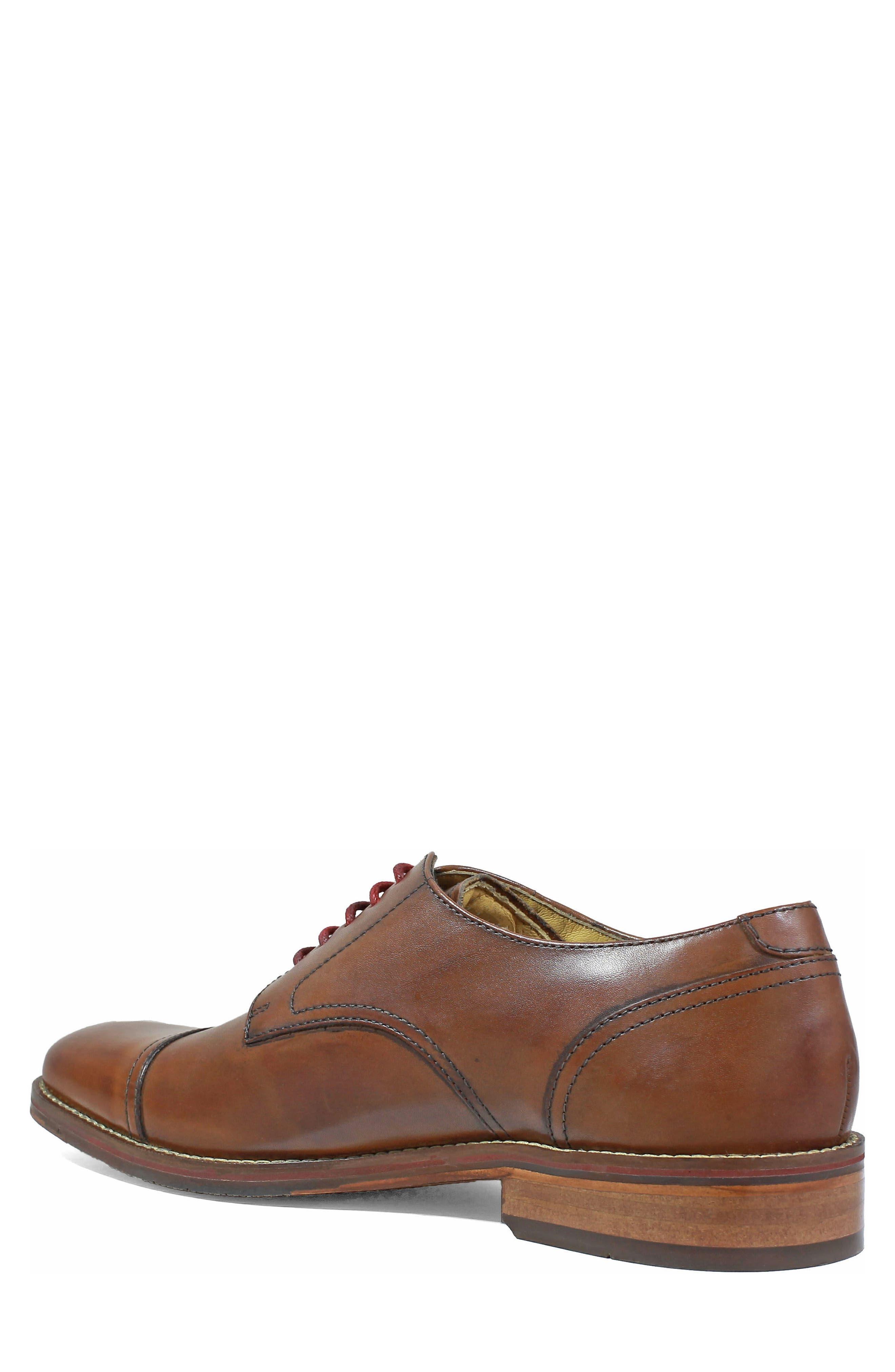 Salerno Wingtip,                             Alternate thumbnail 2, color,                             Cognac Leather