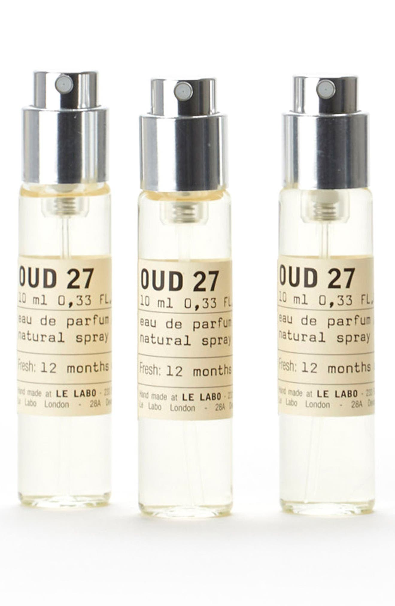 'Oud 27' Travel Tube Refill,                             Main thumbnail 1, color,                             No Color